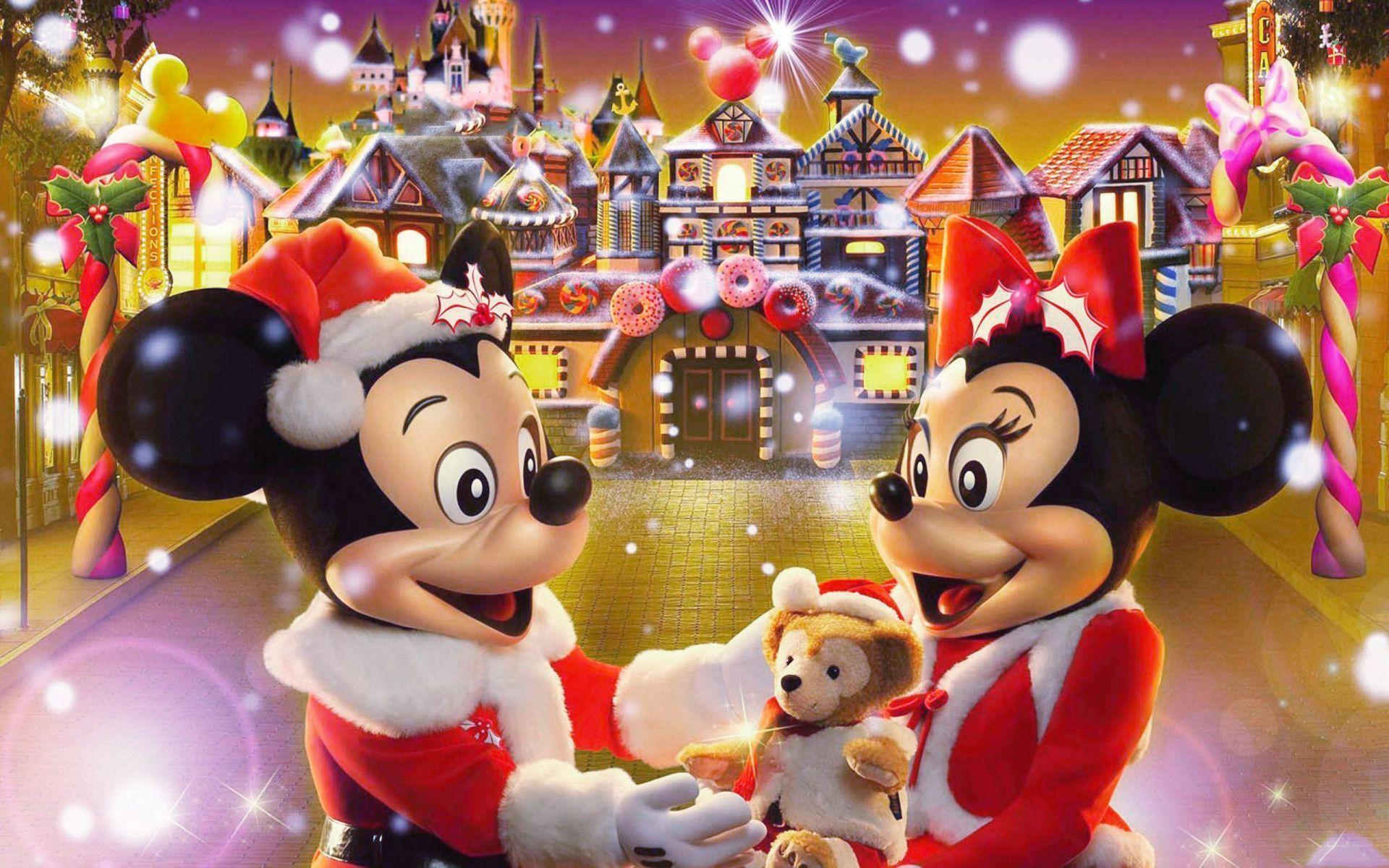 Xmas Stuff For > Disney World Christmas Wallpaper Backgrounds