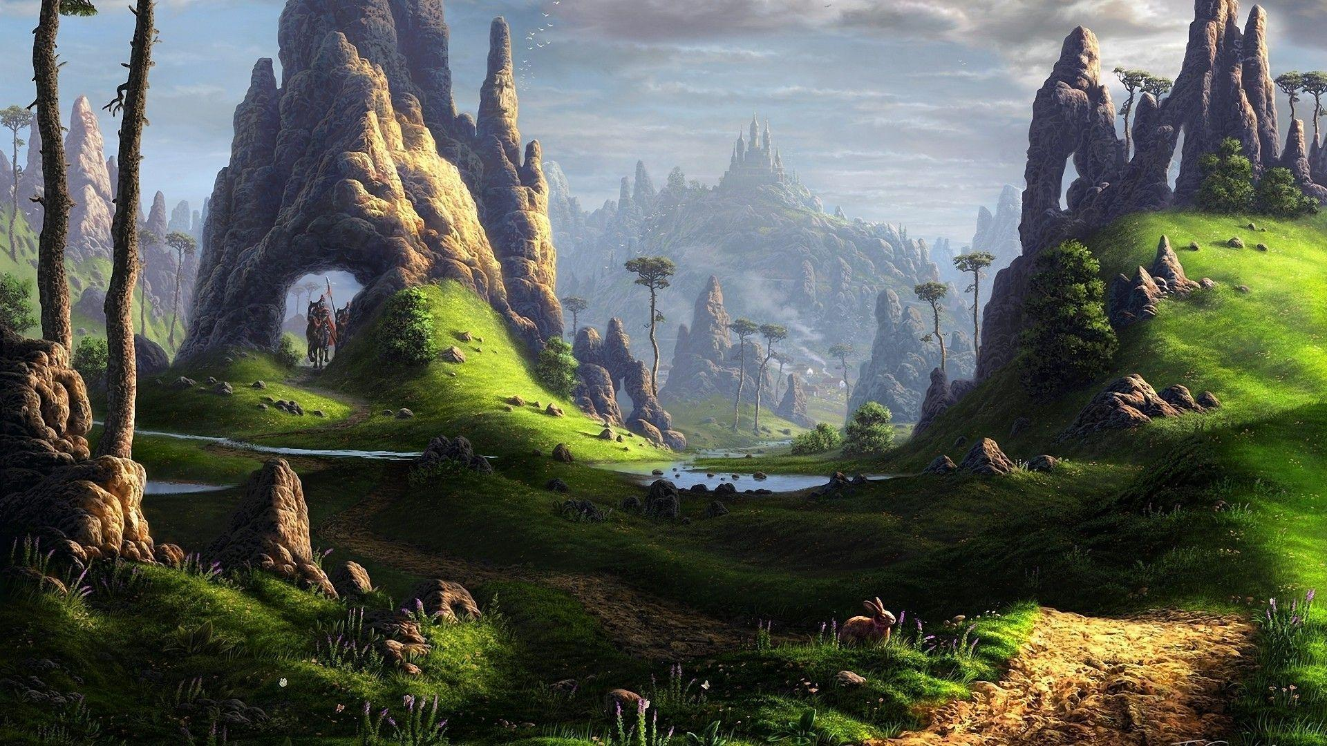 Fantasy Landscape Wallpapers Coll