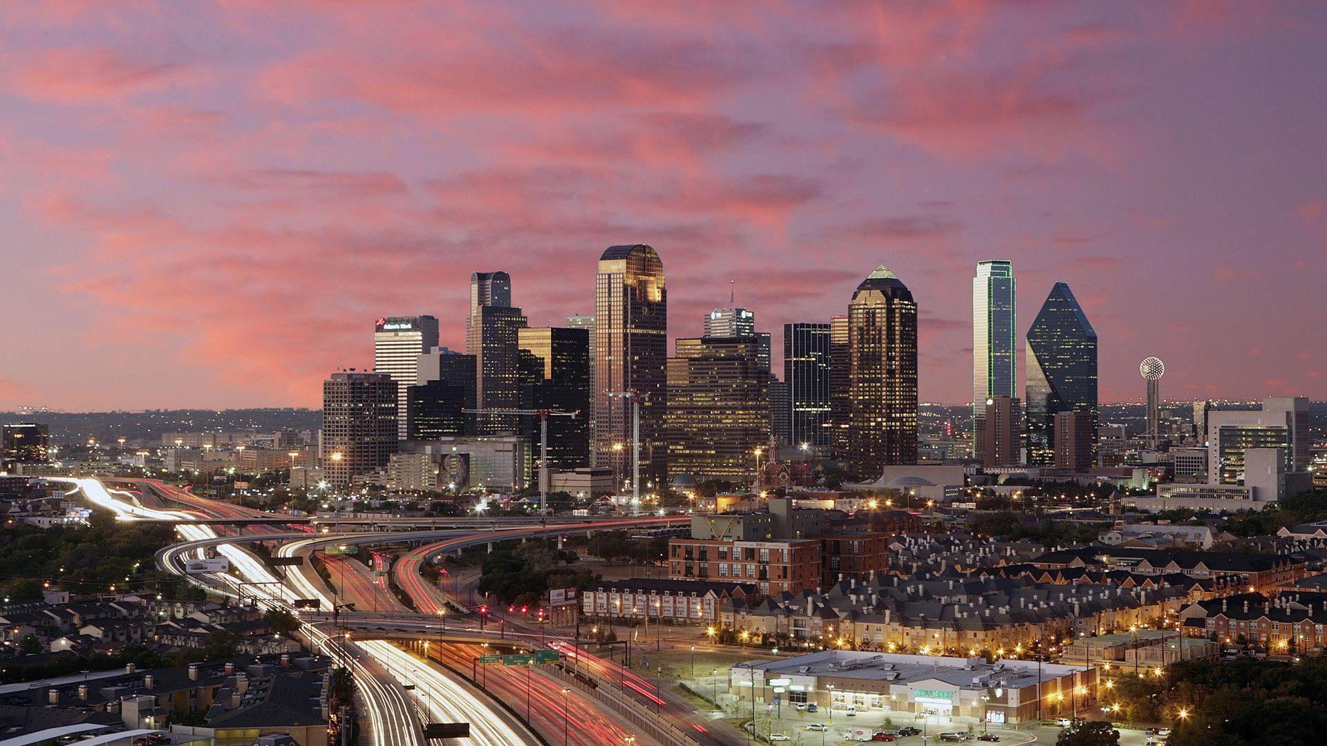 Houston skyline wallpapers wallpaper cave for Sport city motors dallas