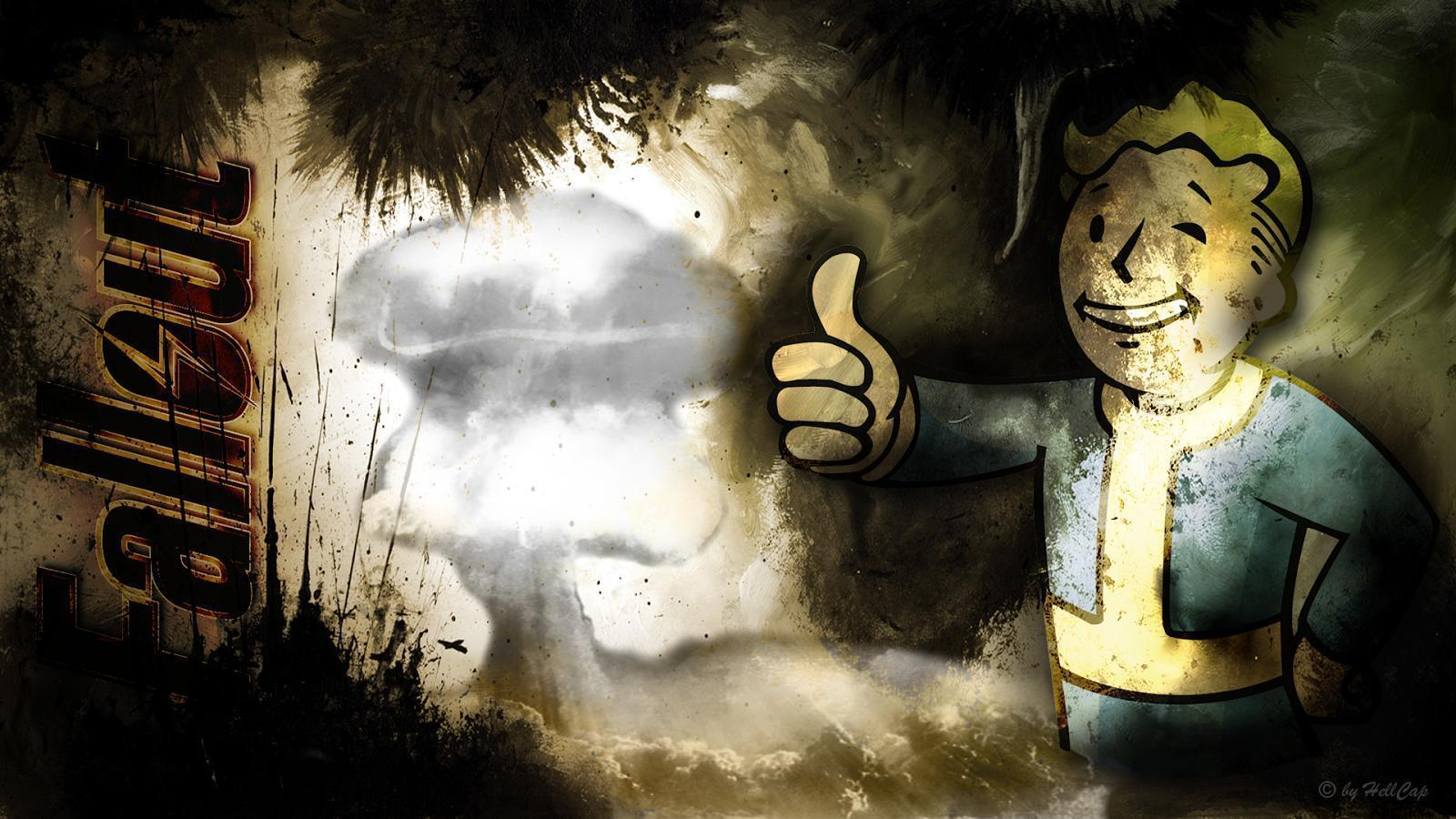 AllOut FallOut: Fallout Vault Boy Wallpaper by Netbase 1920 x 1080