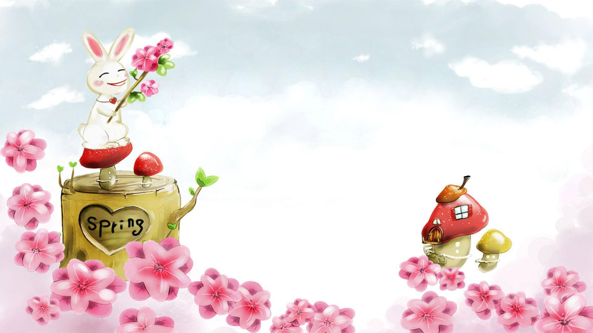 gallery for cute spring wallpaper