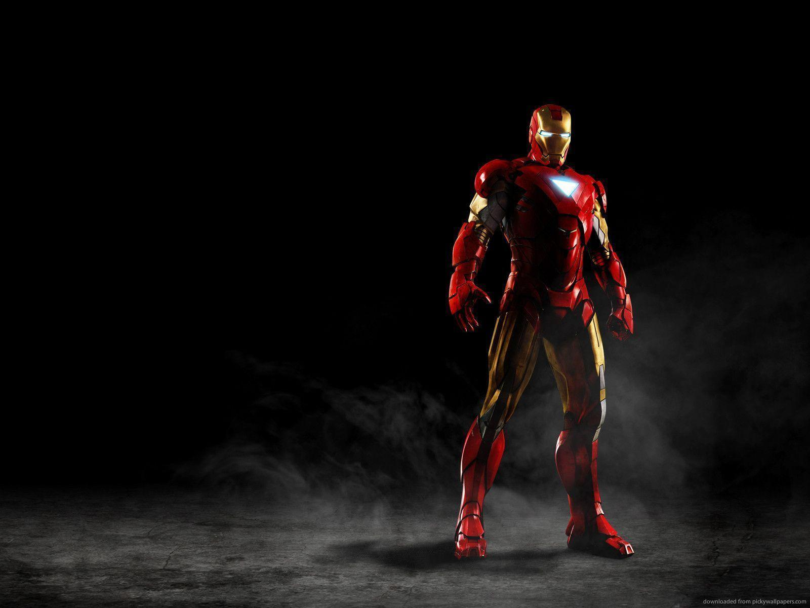 Download 1600x1200 Iron Man Battle Suit Wallpapers