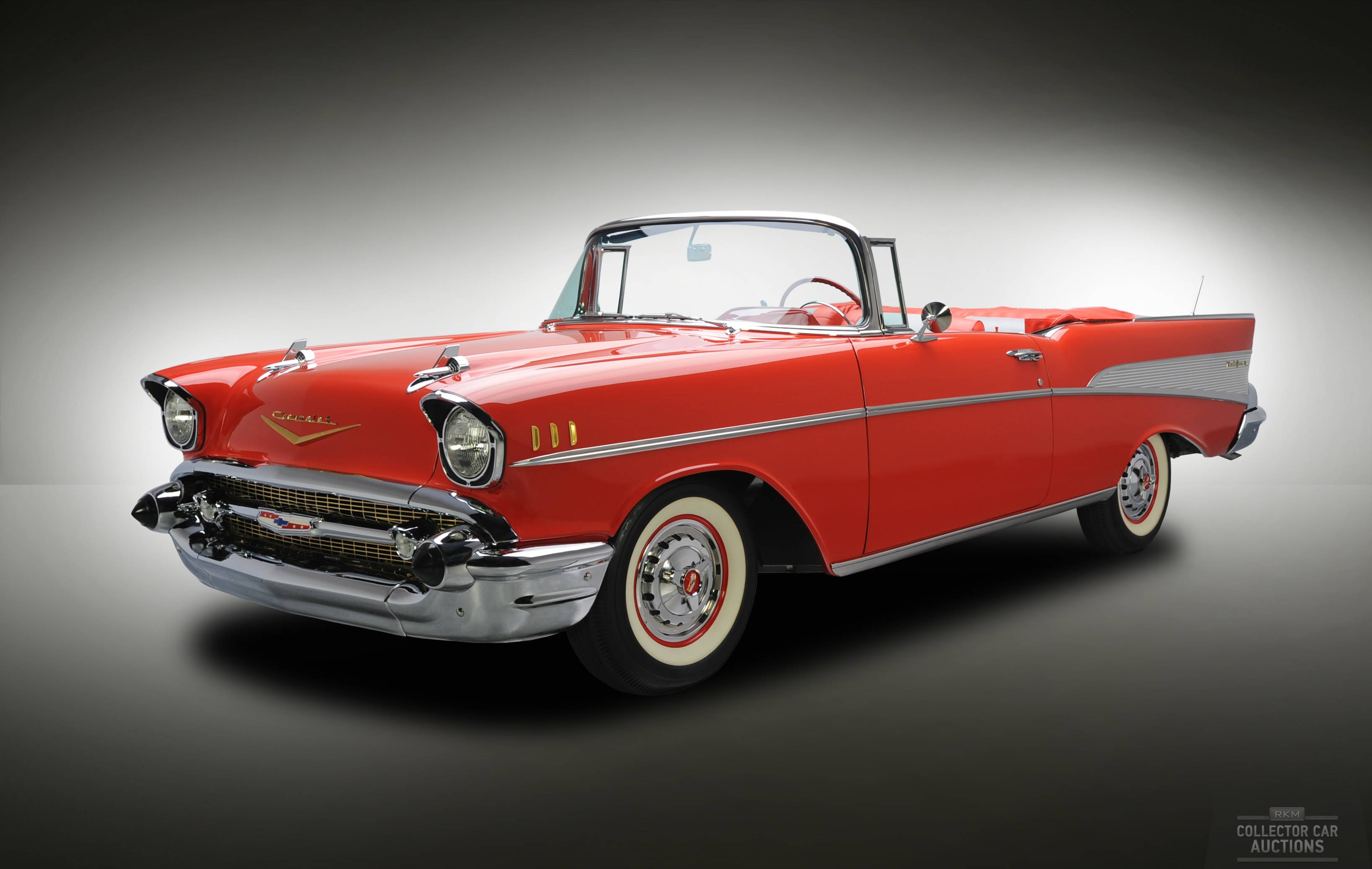 Images For Red 57 Chevy Wallpaper