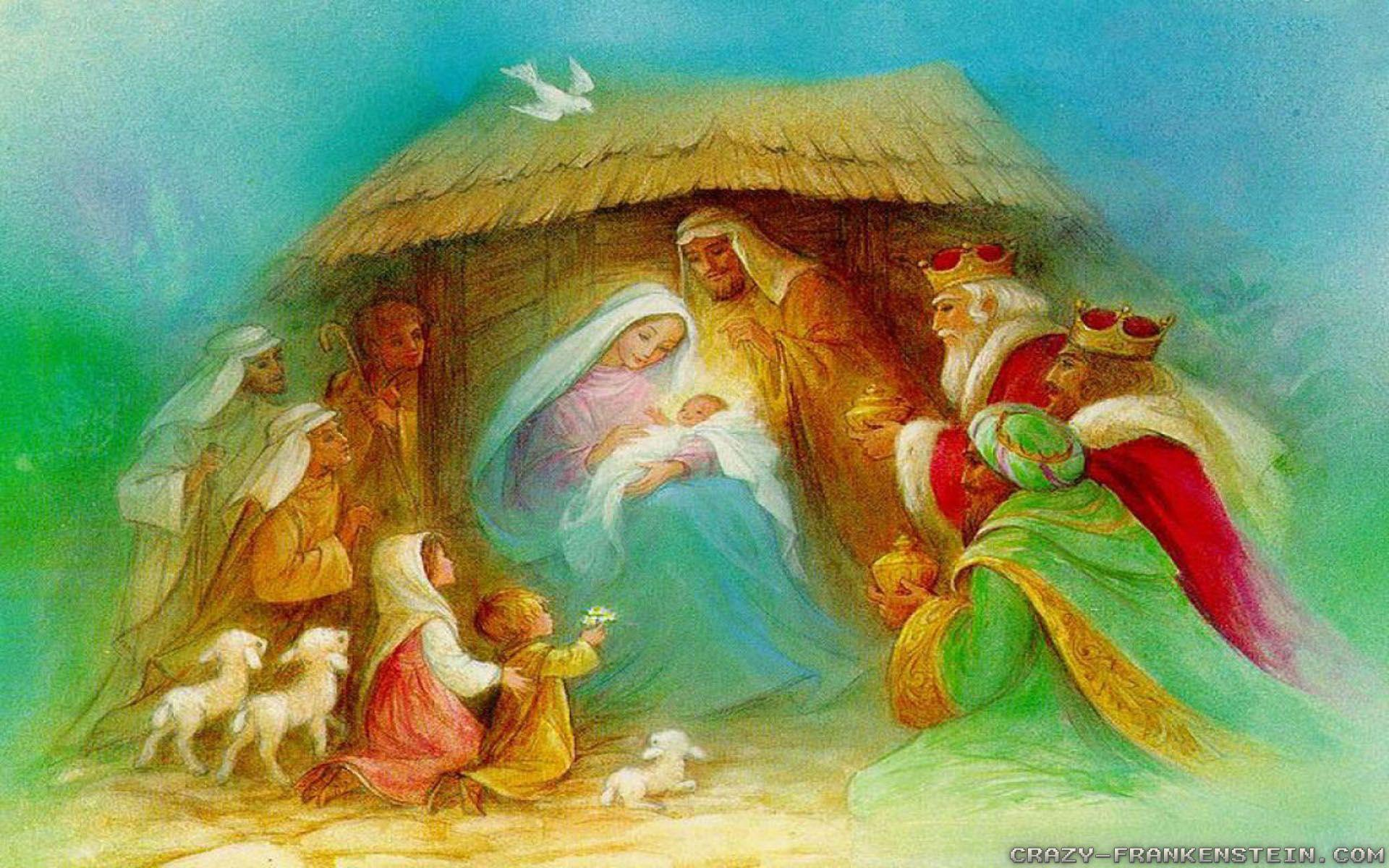 nativity scene wallpapers wallpaper cave