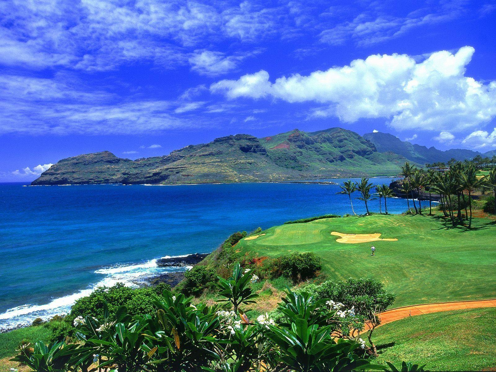 Hawaii Golf Wallpapers For Desktop, Backgrounds, Free HD Wallpapers