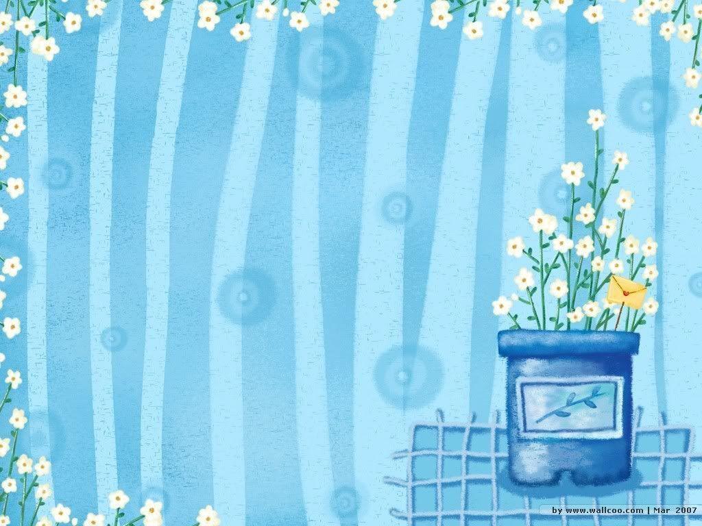 Blue Cute Wallpapers - Wallpaper Cave