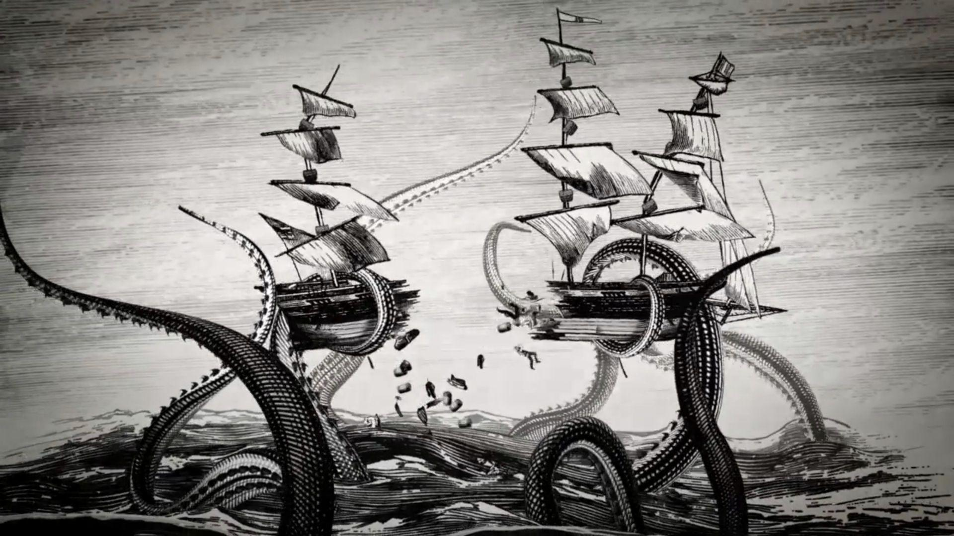 Kraken wallpapers wallpaper cave - Kraken rum pictures ...