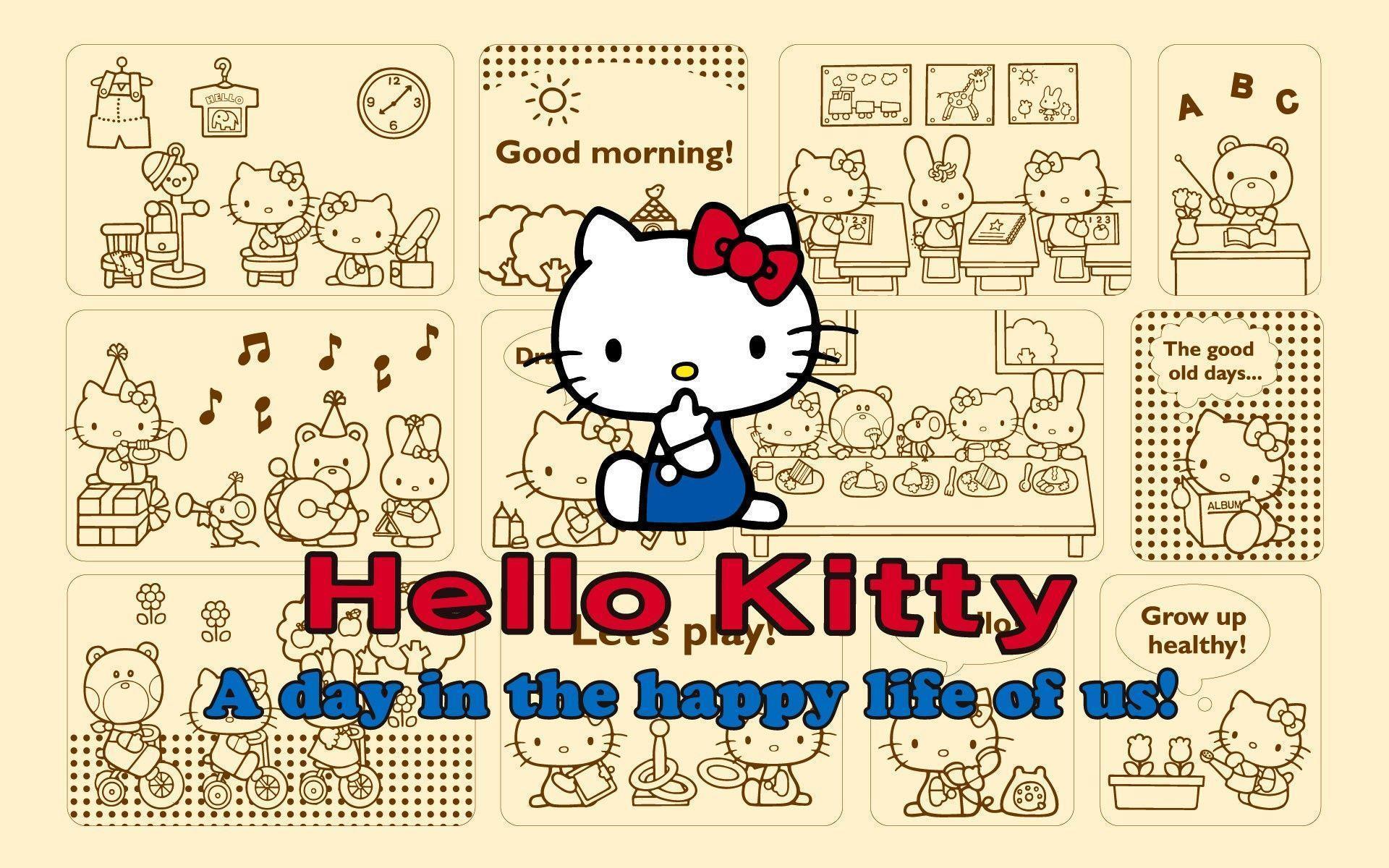 <b>Hello Kitty</b> Birthday <b>Wallpaper</b> - WallpaperSafari
