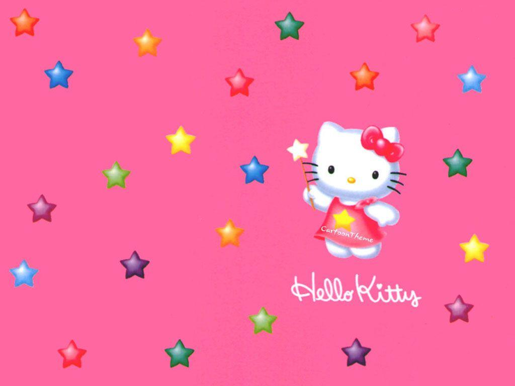 Hello Kitty Backgrounds Collection