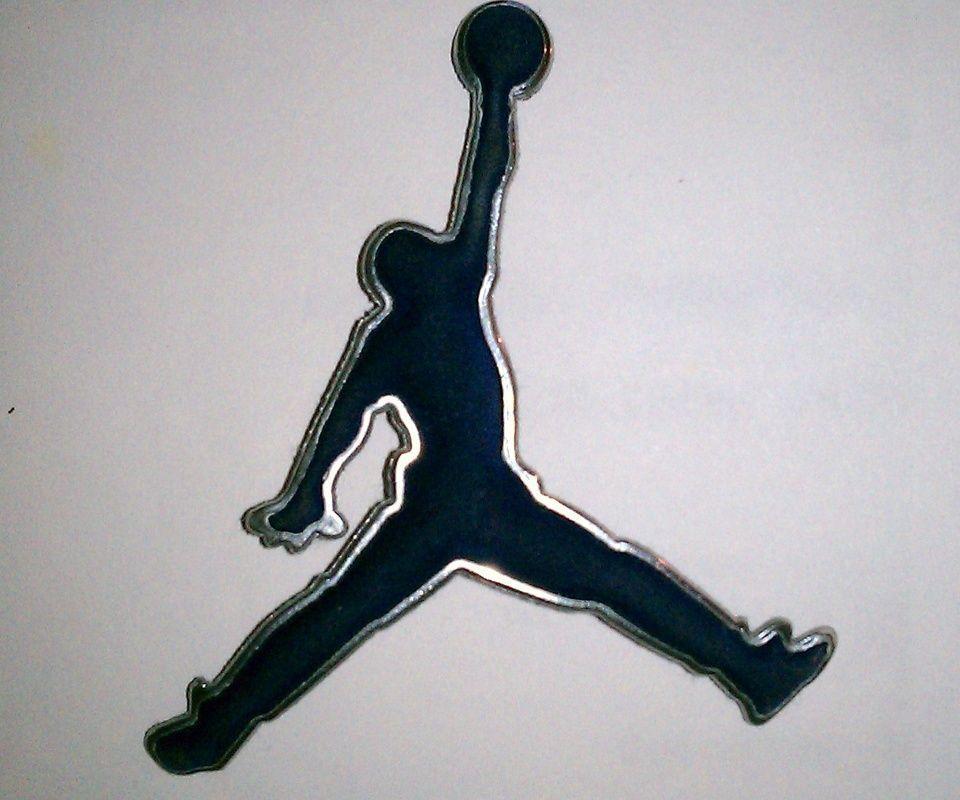 Air Jordan logos cell phone wallpaper download free
