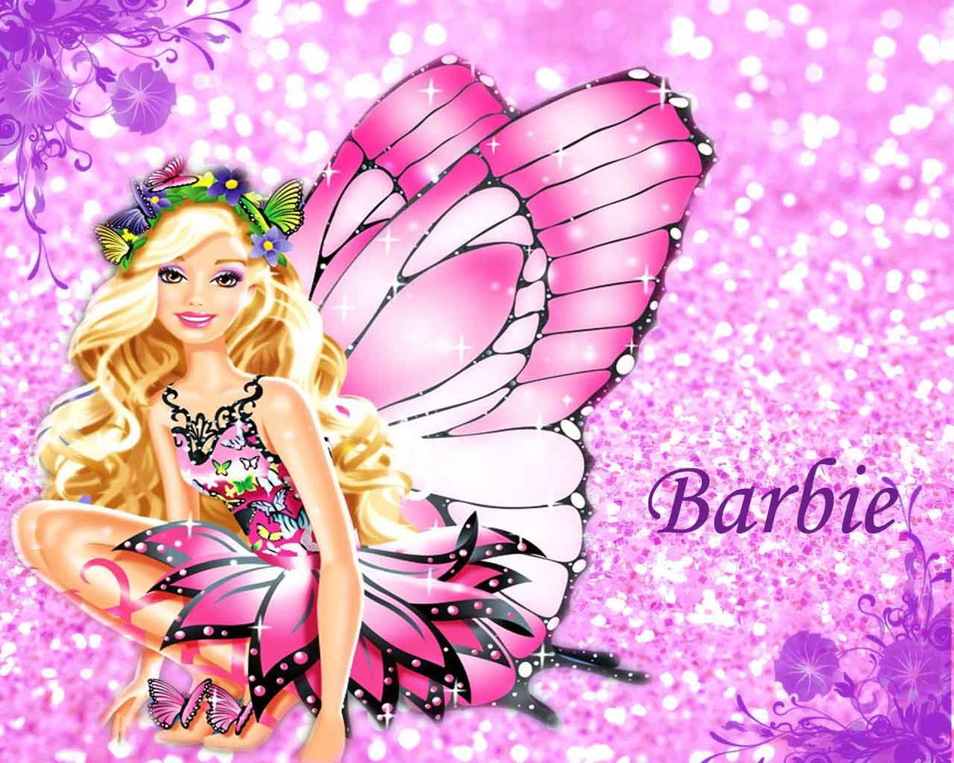Pink Barbie Wallpaper #10867 Wallpaper | High Definition Wallpaper ...