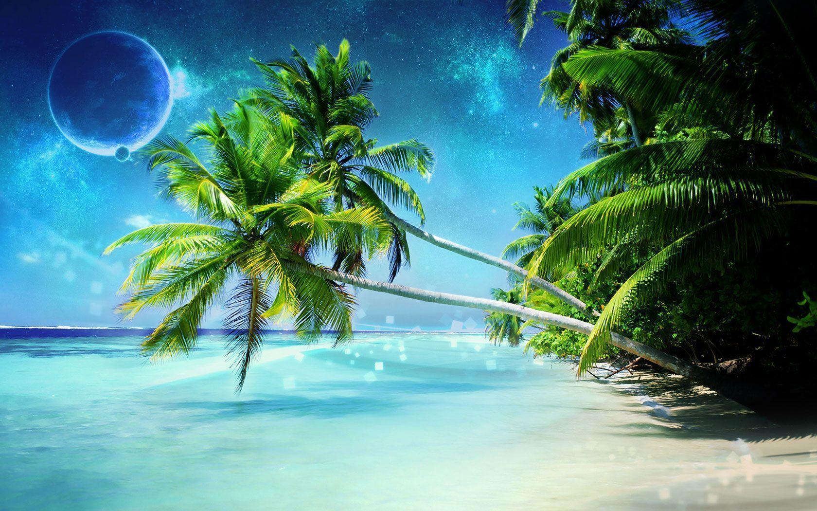 FunMozar – 3d High Resolution Widescreen Beach Wallpapers