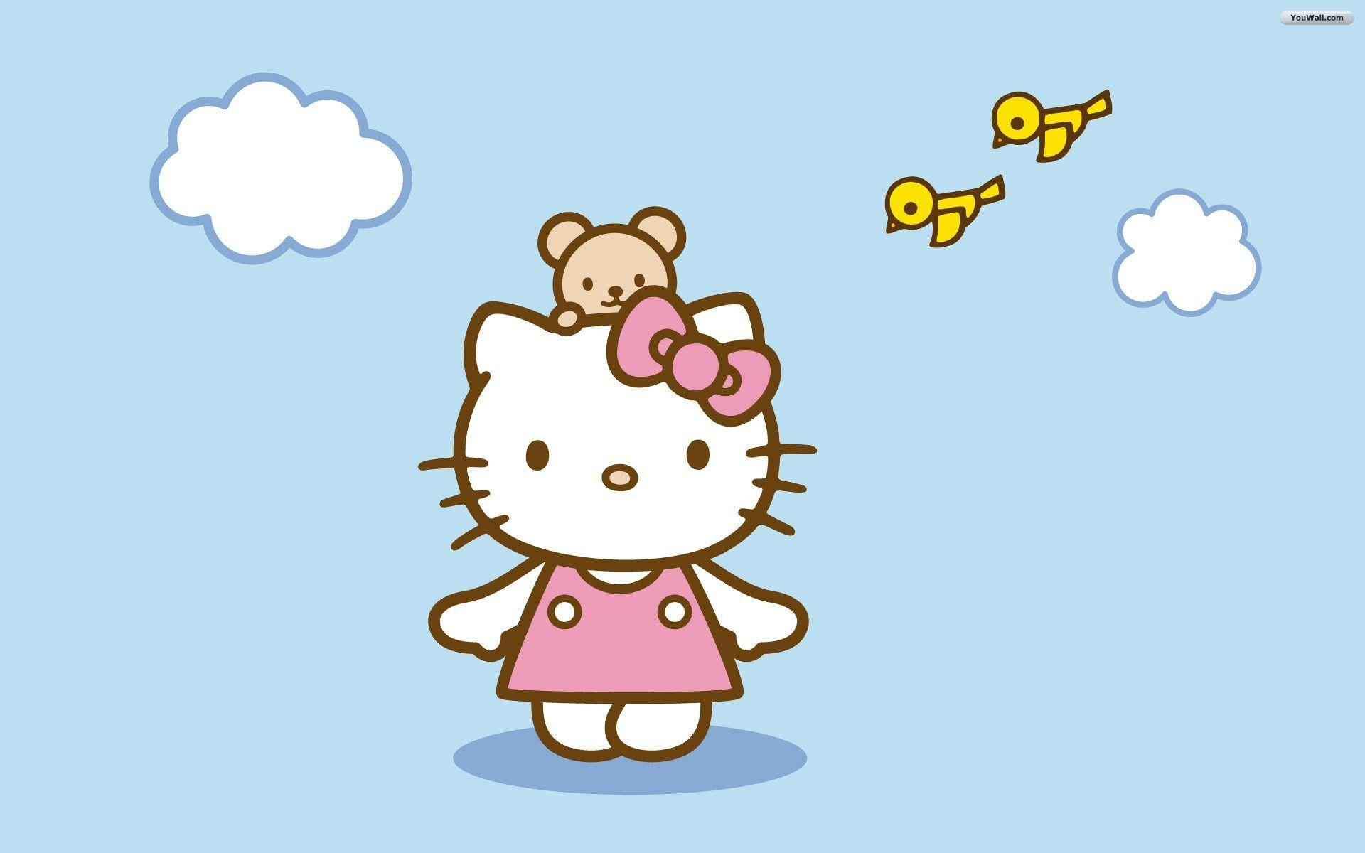 hd wallpapers hello kitty wallpaper cave