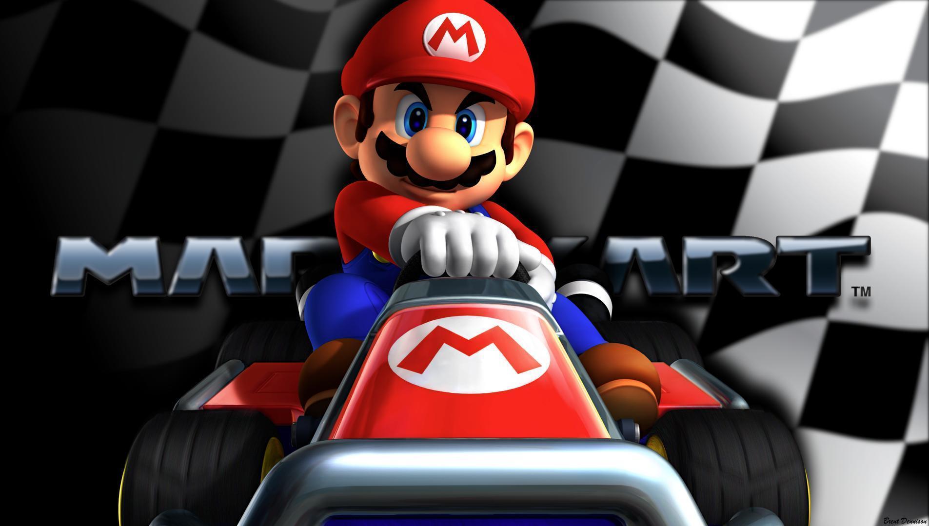 Mario Kart 8 Background