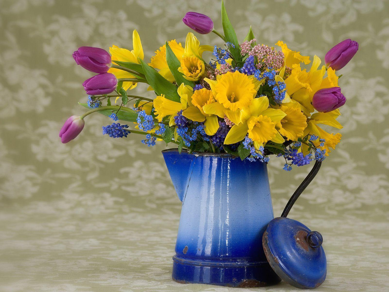 Free Desktop Wallpapers Spring Flowers Wallpaper Cave