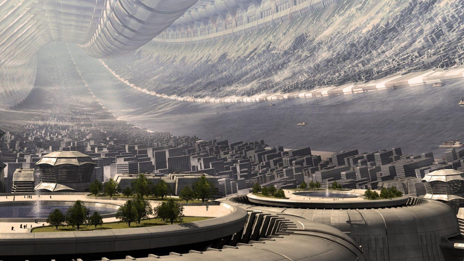 50 Futuristic City Wallpapers