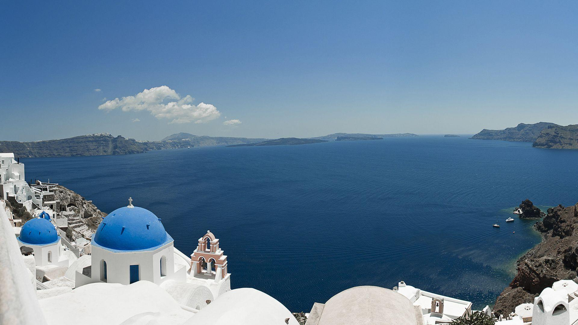 30 Santorini Wallpapers