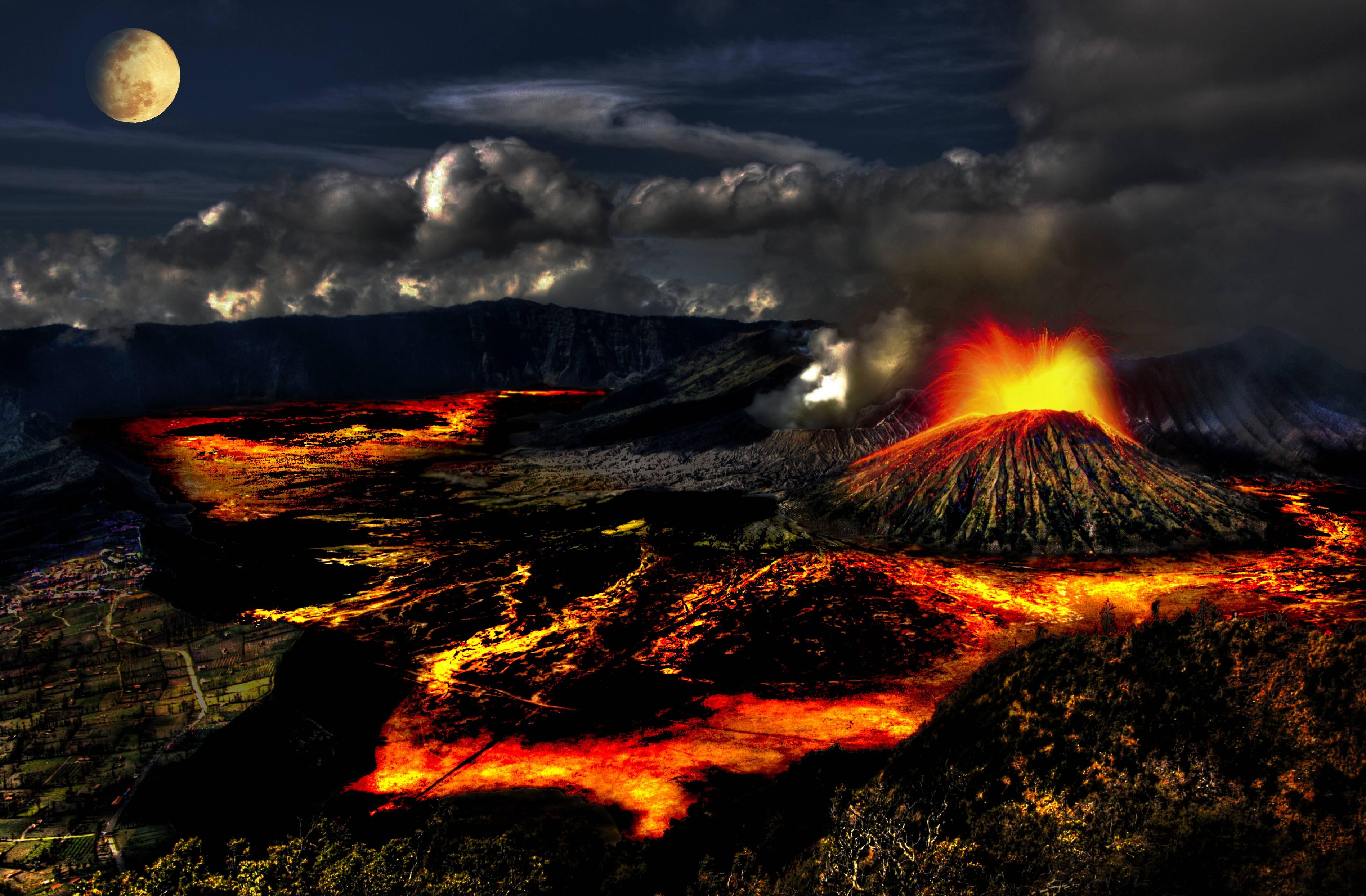 Background information on volcanoes