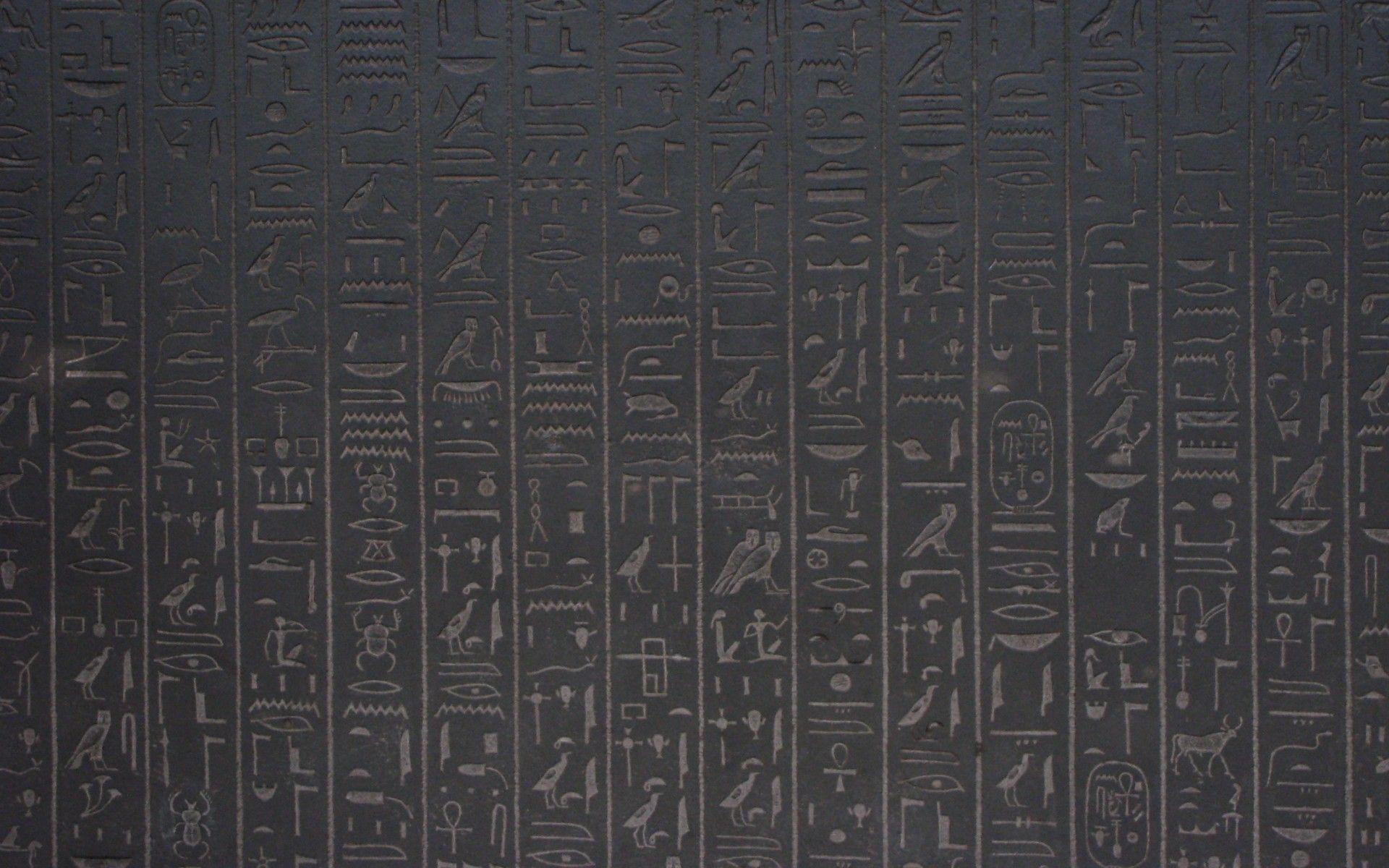 simple egyptian hieroglyphics wallpaper - photo #30