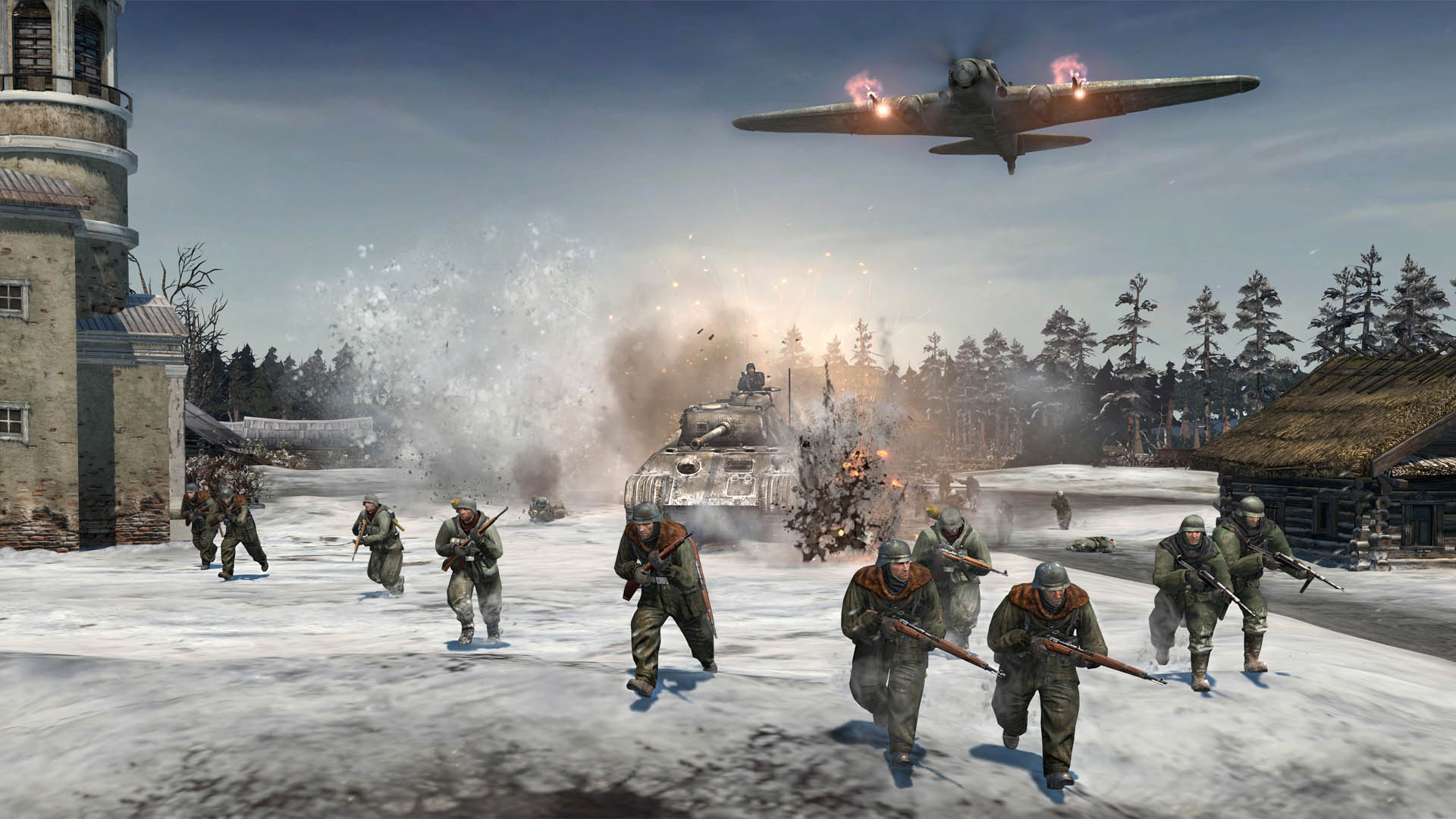 1 Wallpaper Company Of Heroes 2 Wallpapers Wallpaper Cave