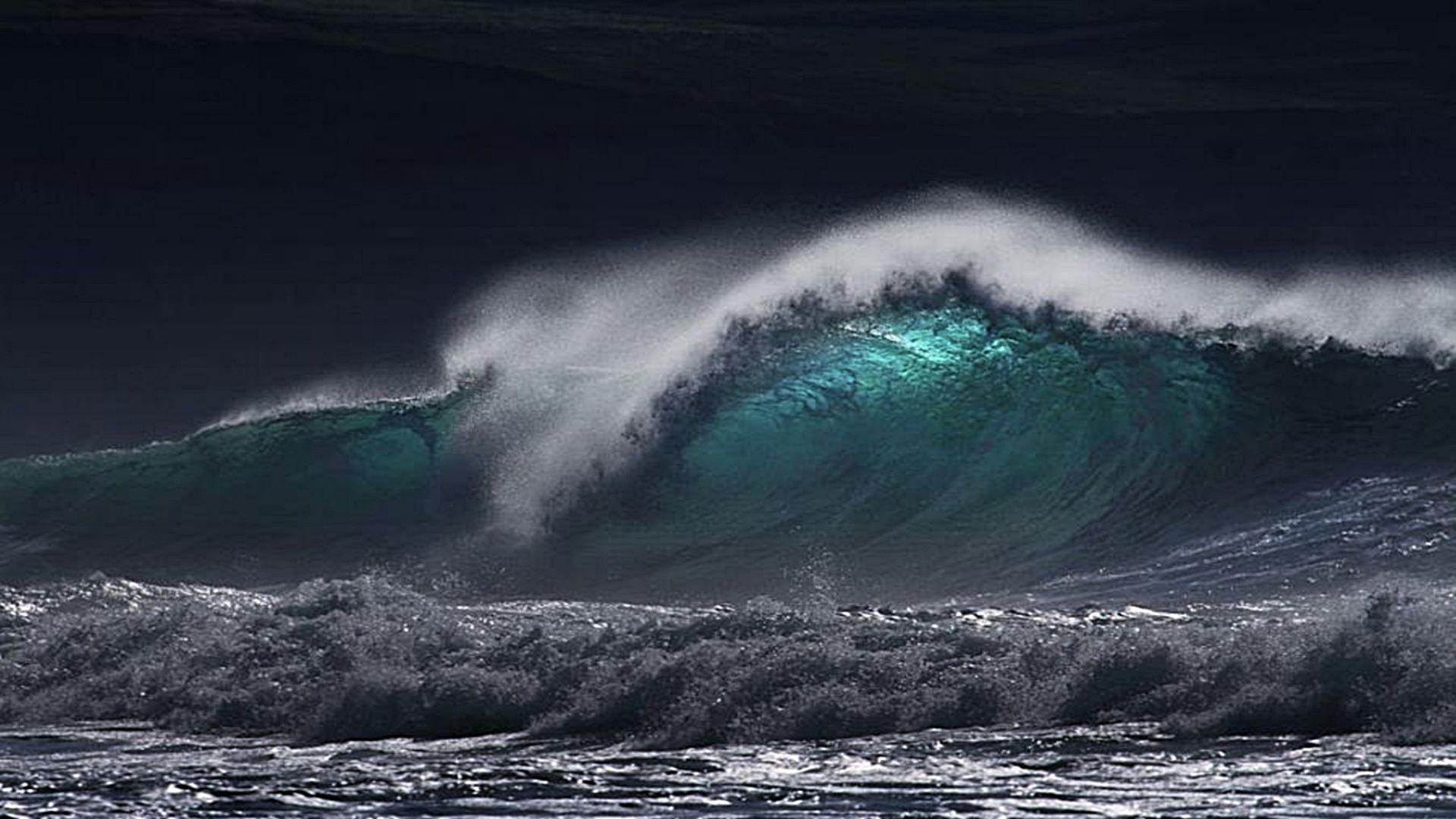 Image For > Stormy Sea Wave