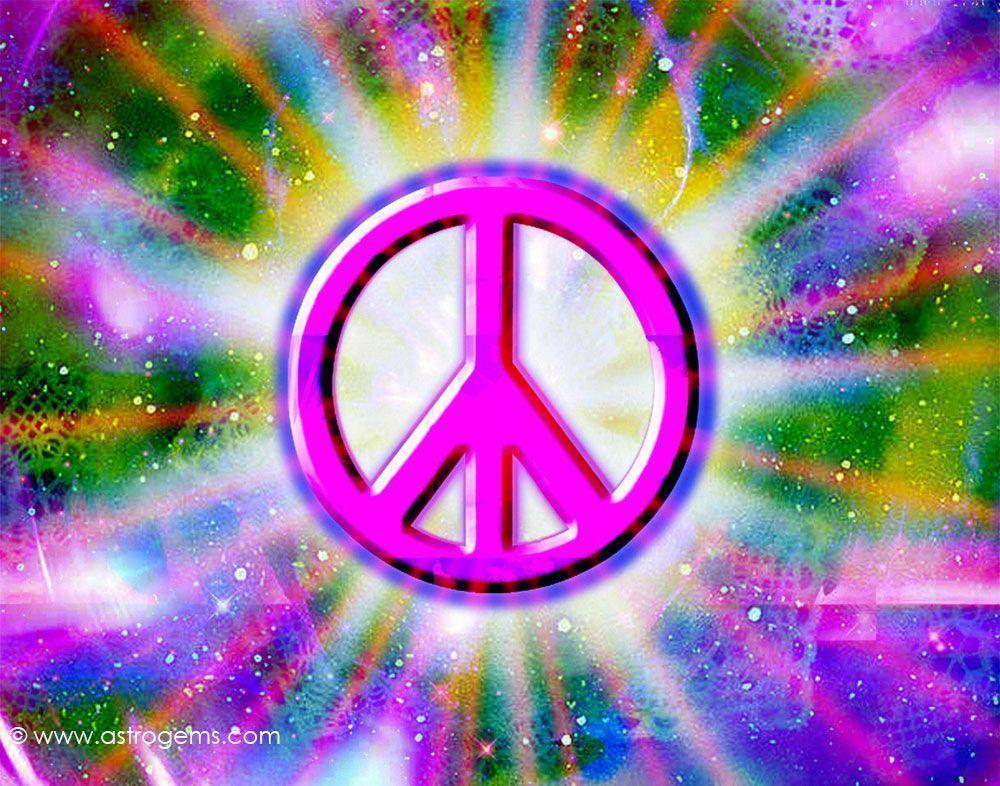 Colorful Peace Sign Backgrounds - Wallpaper Cave