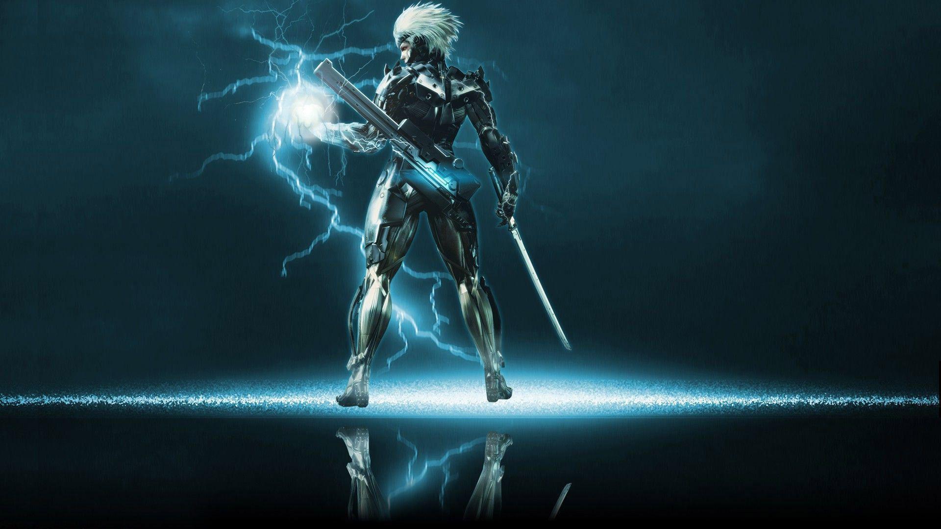 Metal Gear Solid Raiden Wallpaper