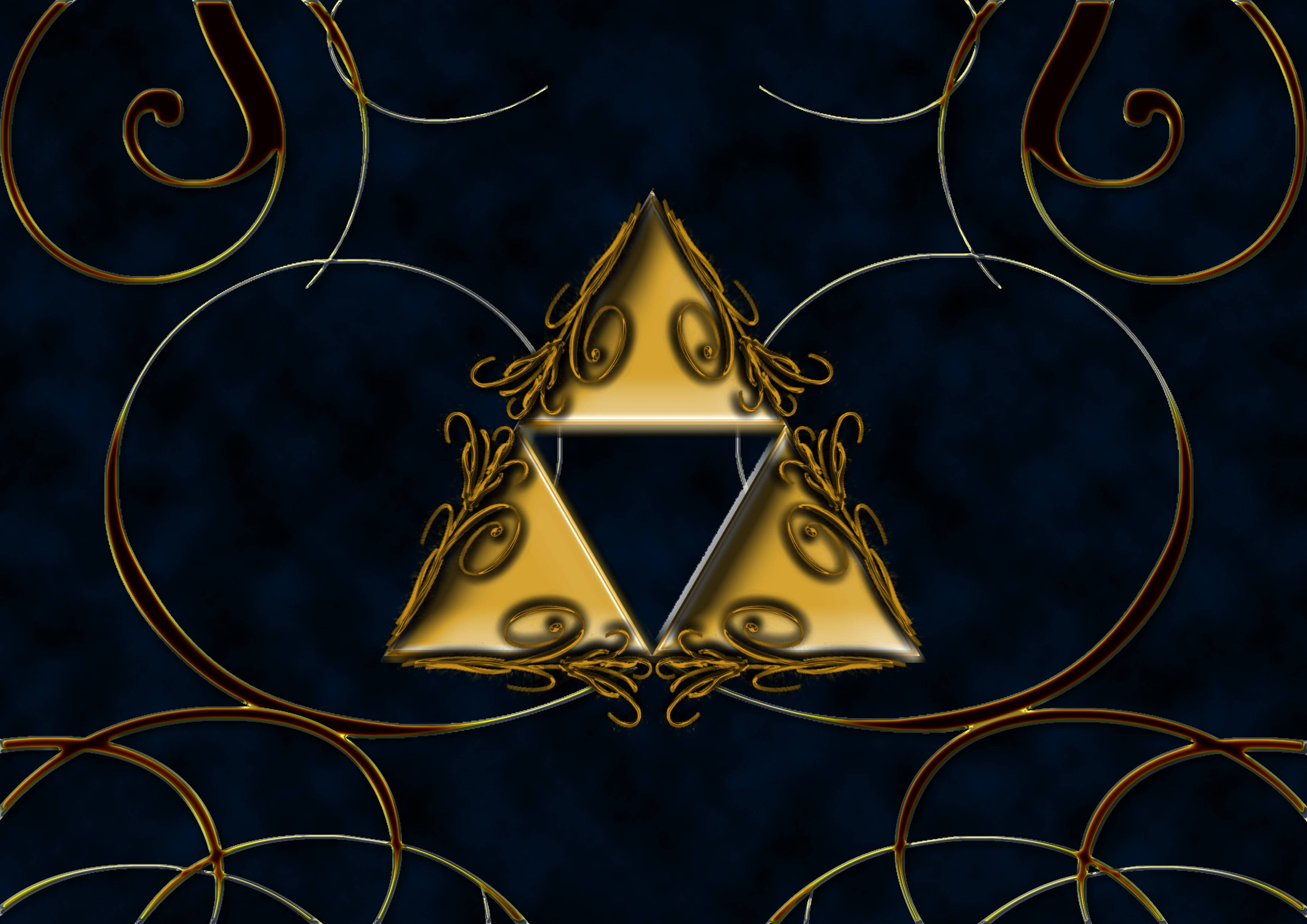 Image For > Black Triforce Wallpapers