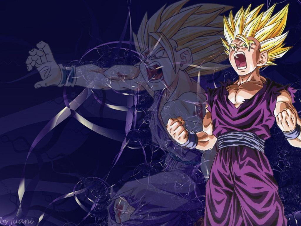 Ssj2 Gohan Wallpapers Wallpaper Cave