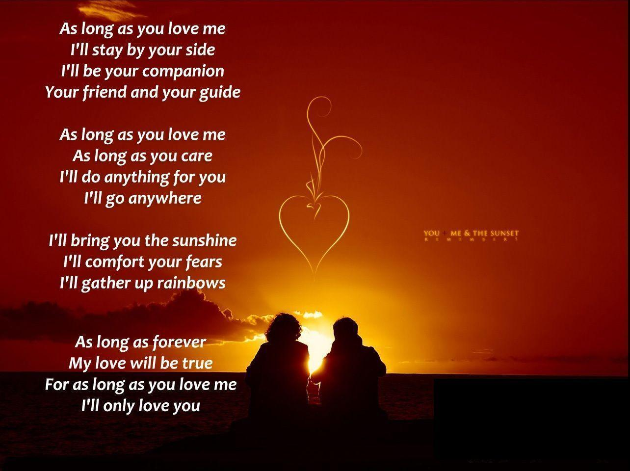 Love Your Wallpaper : Love Poems Wallpapers - Wallpaper cave
