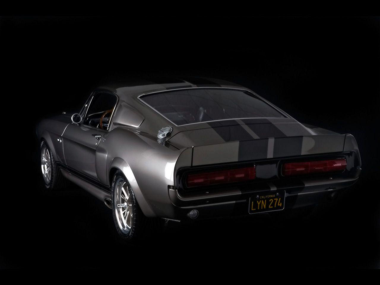 1967 mustang fastback gone in 60 seconds eleanor rear angle