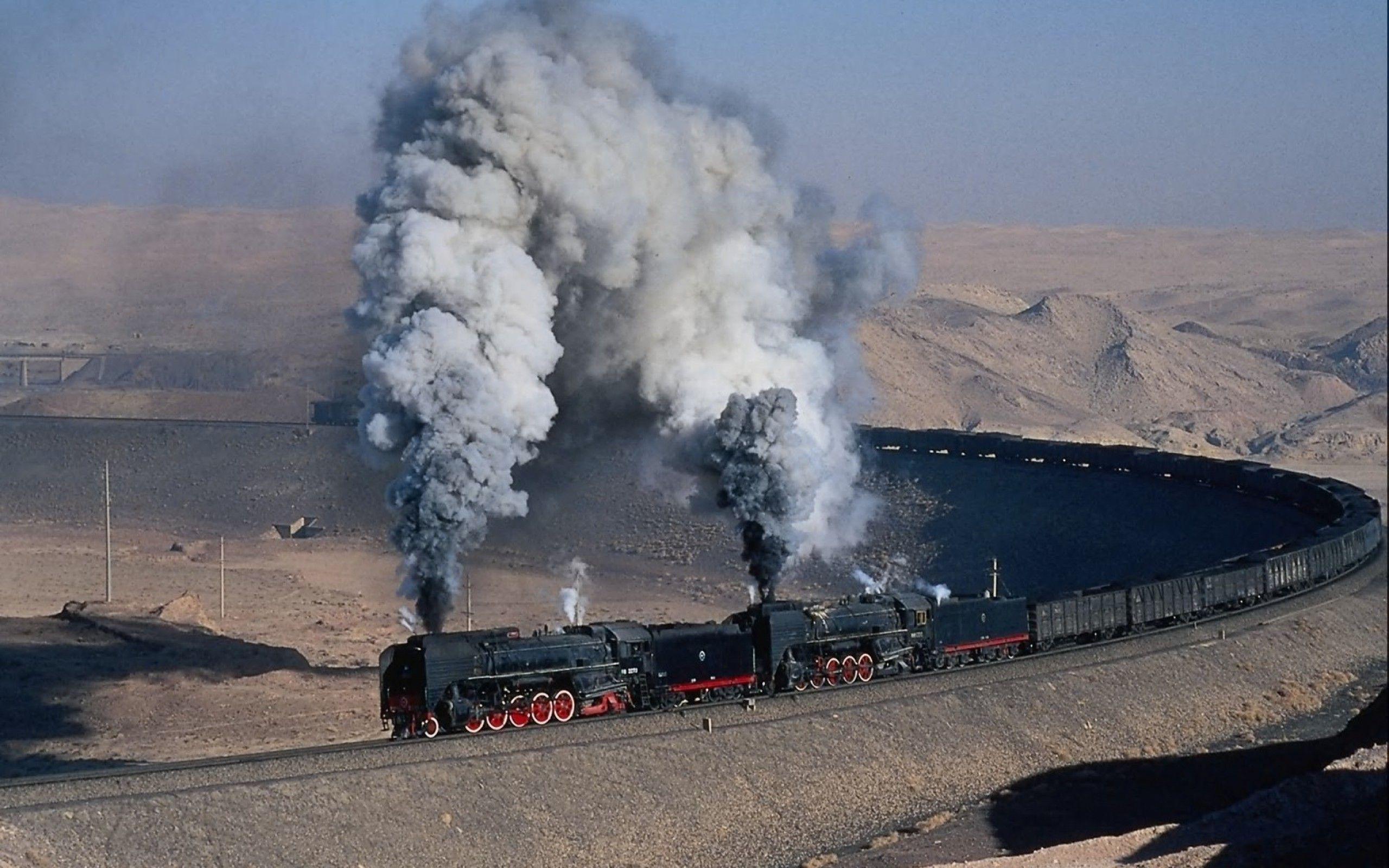 Steam train wallpaper