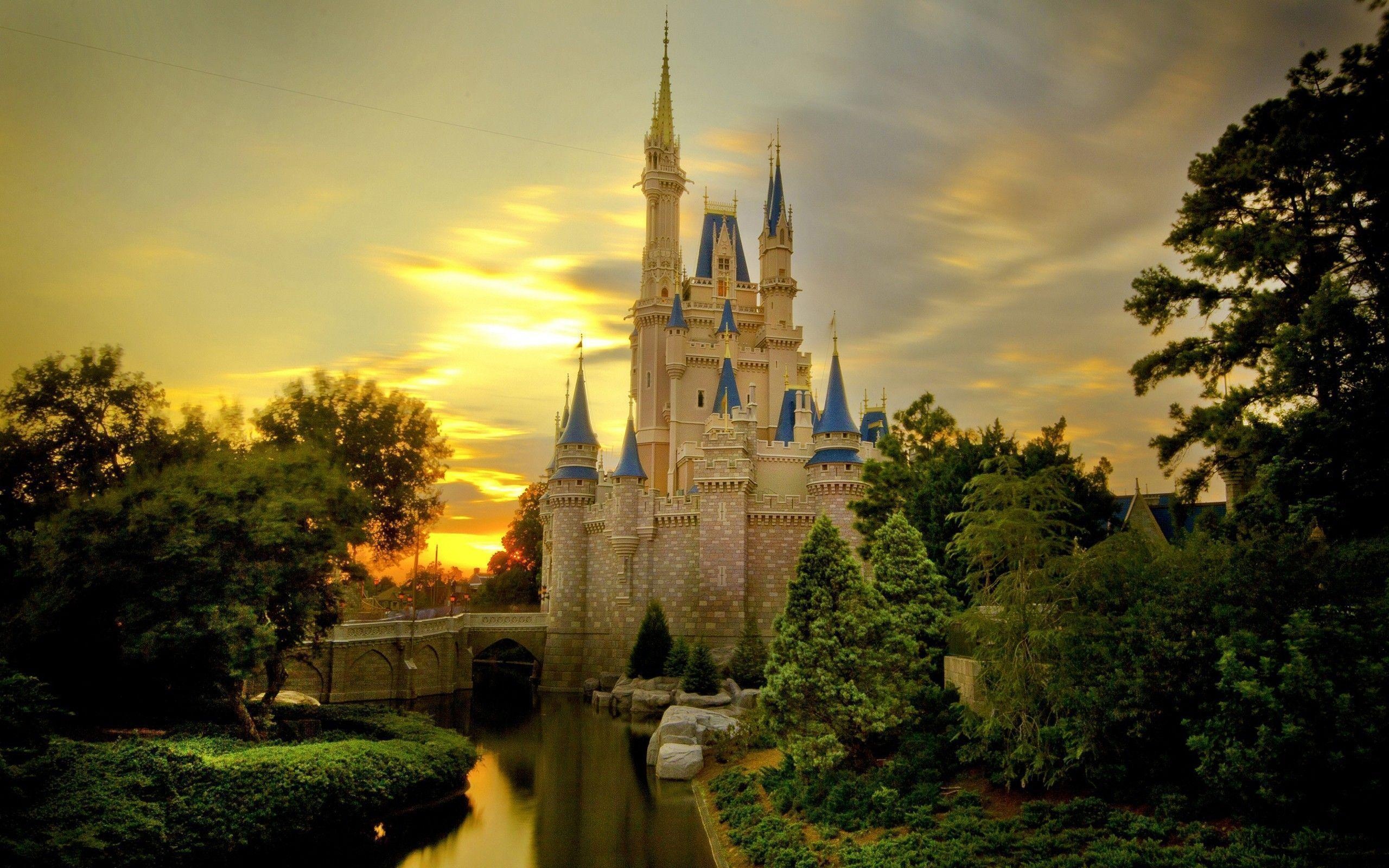 Wallpapers For > Disney Castle Backgrounds Clipart