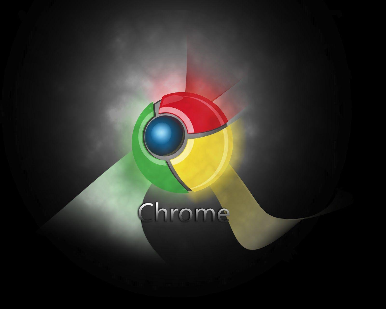how to change google chrome background to black
