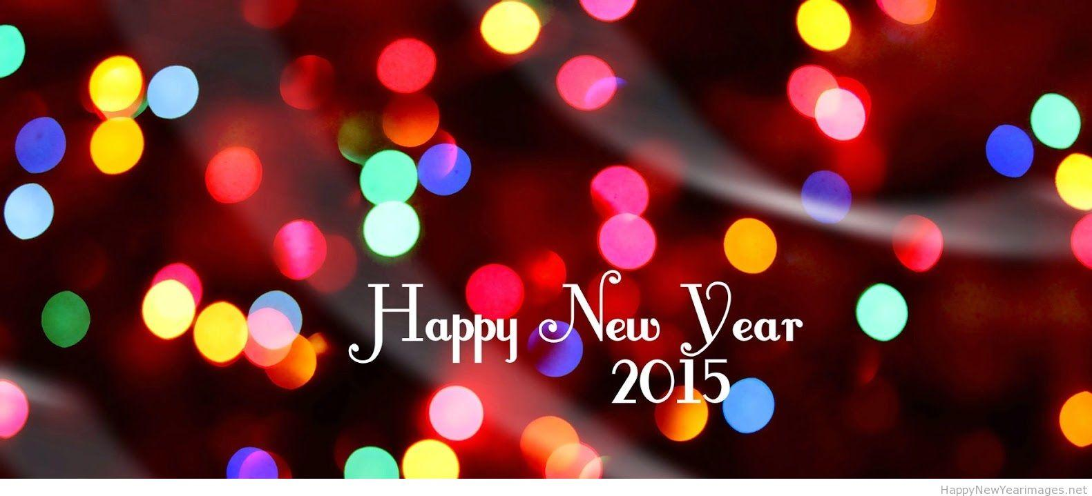 Wallpaper download new year 2015 - Happy New Year 2015 Lights Wallpaper