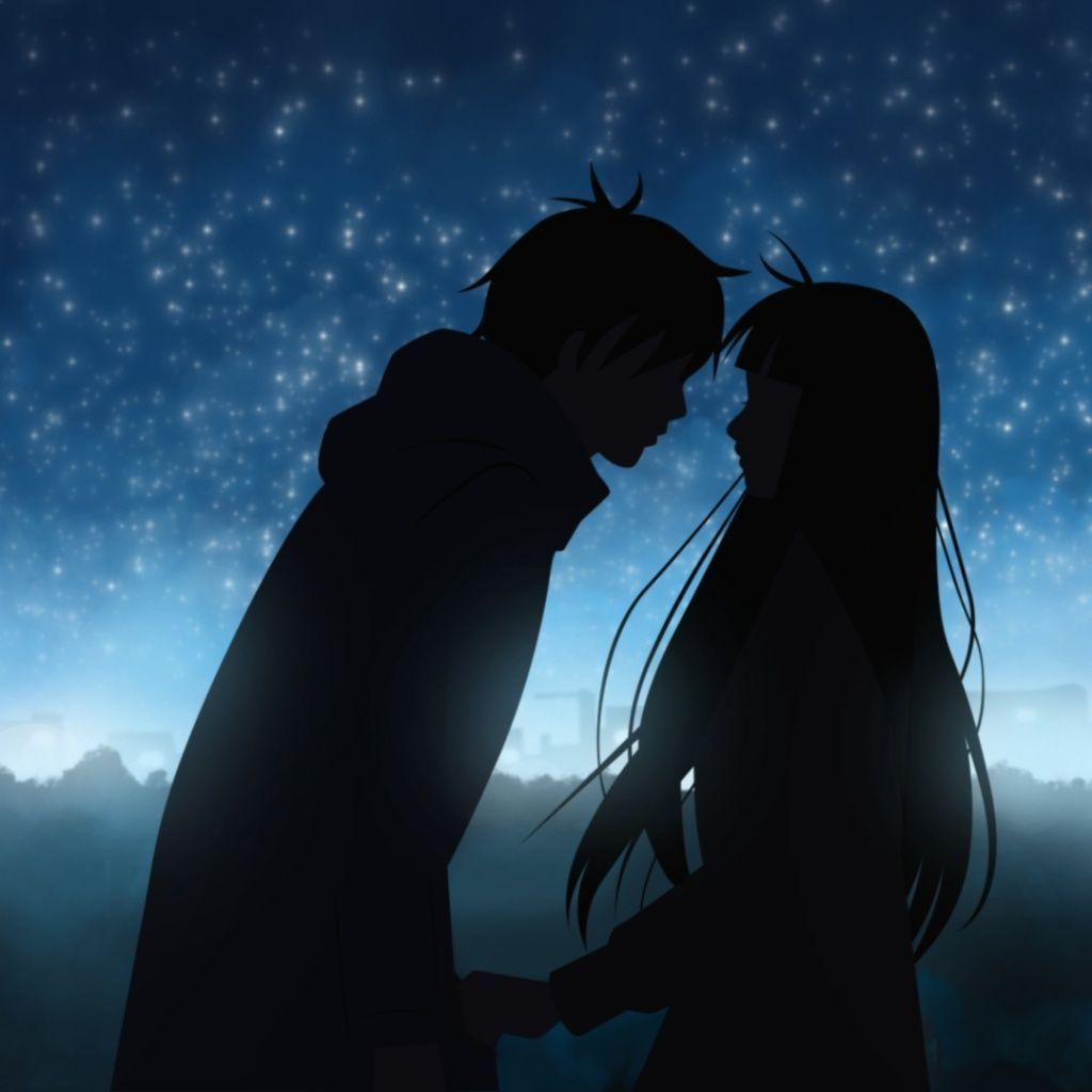 Best Love And Kiss Wallpaper : Romantic Anime Wallpapers - Wallpaper cave