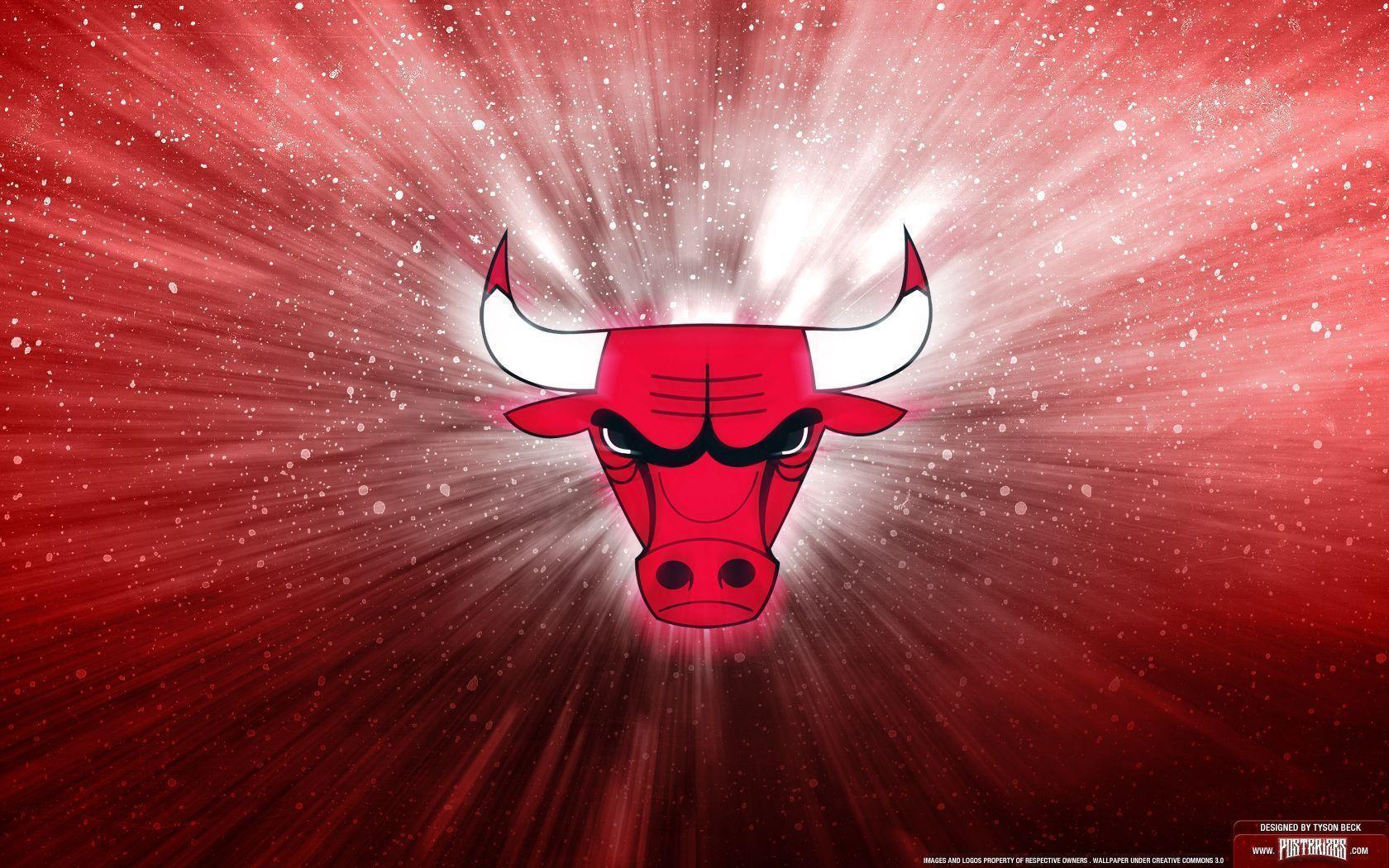 Chicago Bulls Logo Wallpaper | Posterizes | NBA Wallpapers ...