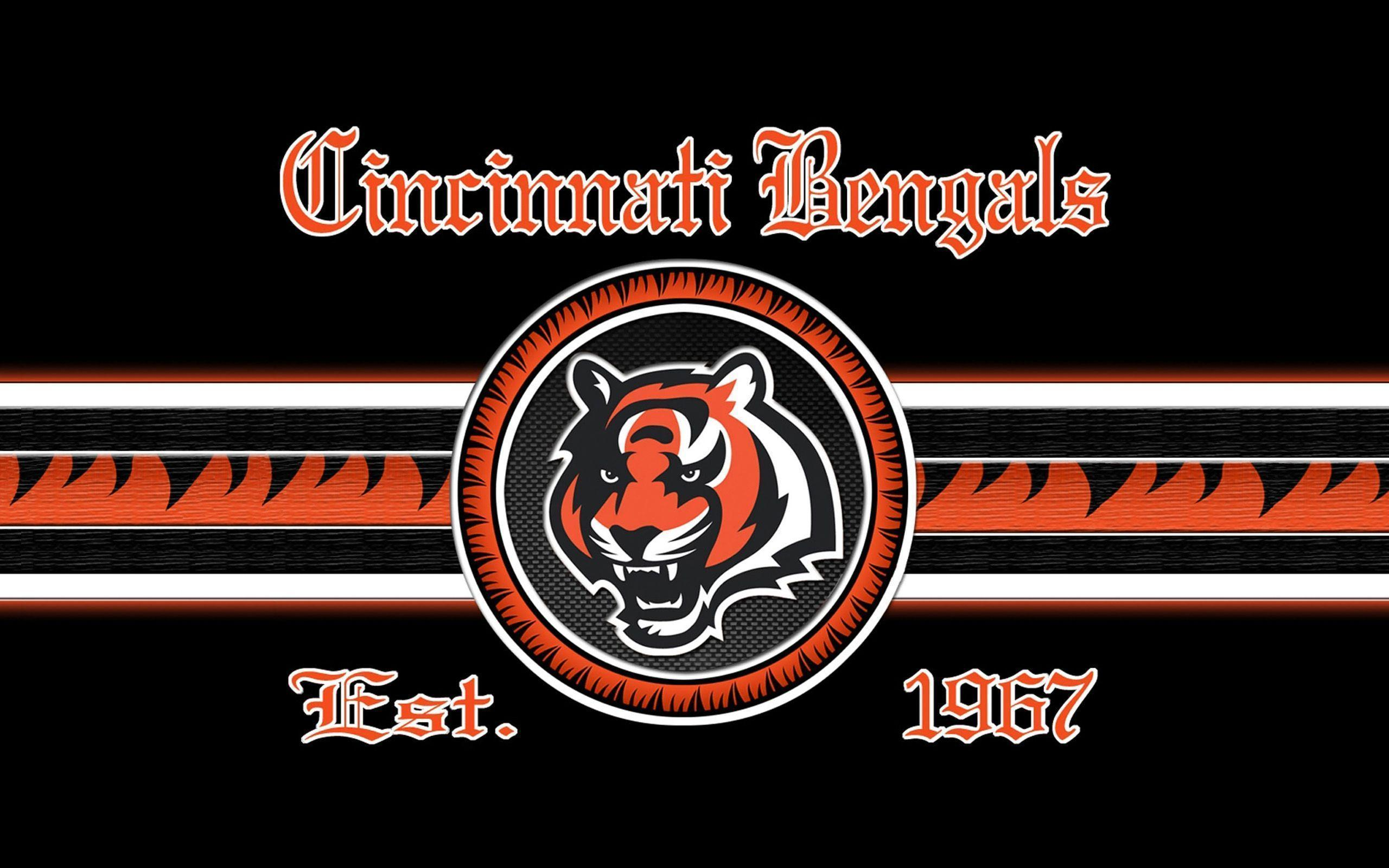 2014 Cincinnati Bengals NFL Logo Wallpaper Wide or HD | Sports ...