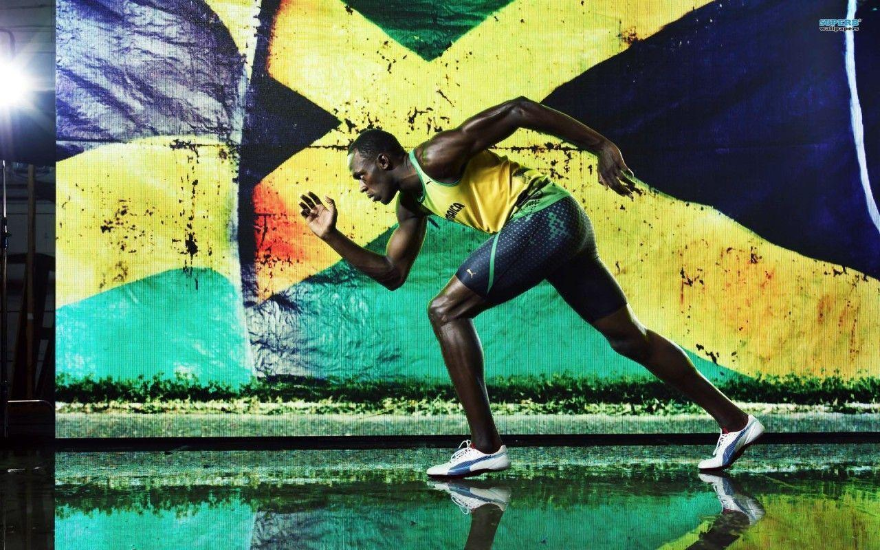 Jamaican Usain Bolt – Olympics 2012 widescreen wallpaper | Wide-