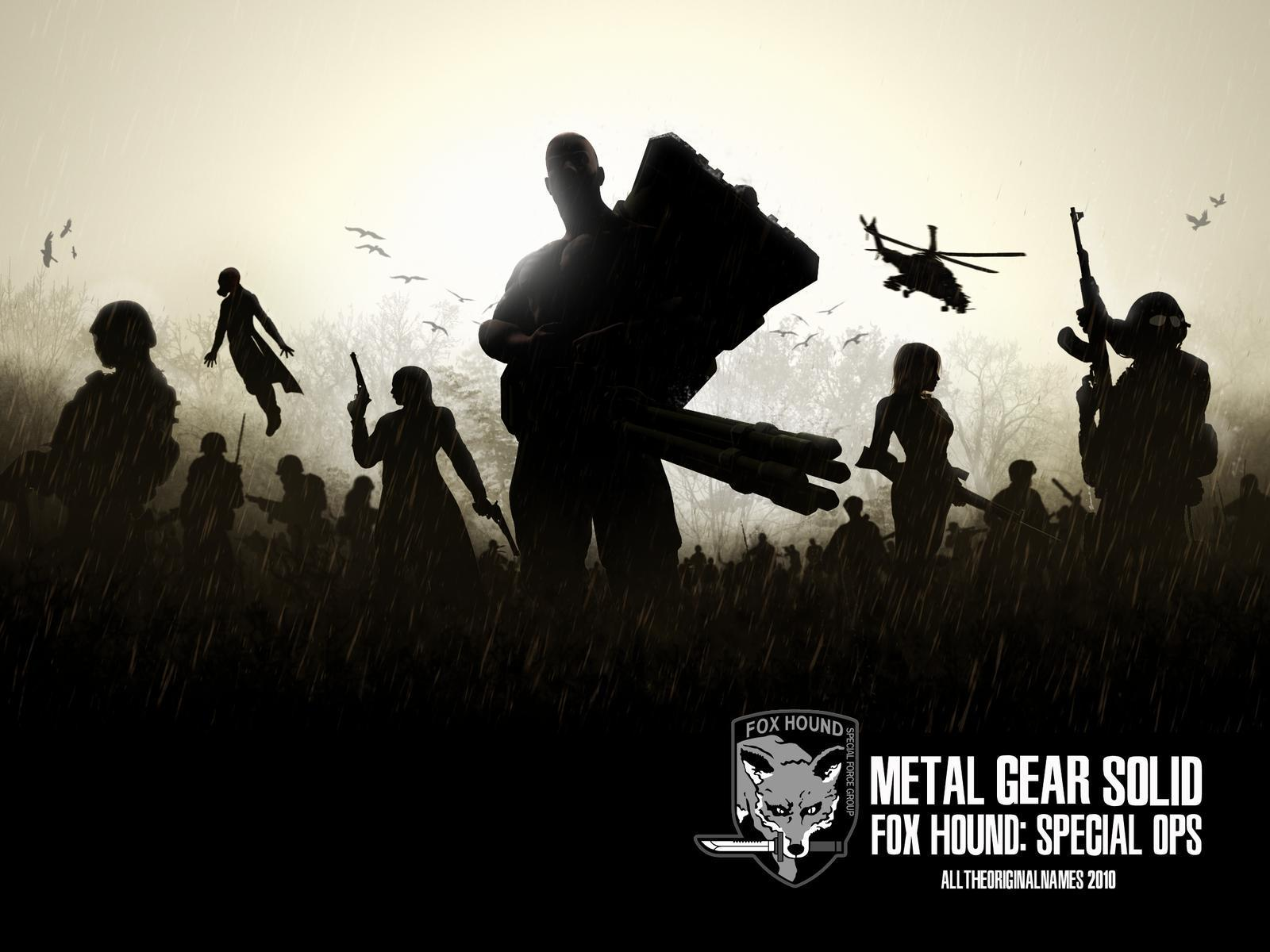 Foxhound Metal Gear Solid wallpaper 123325
