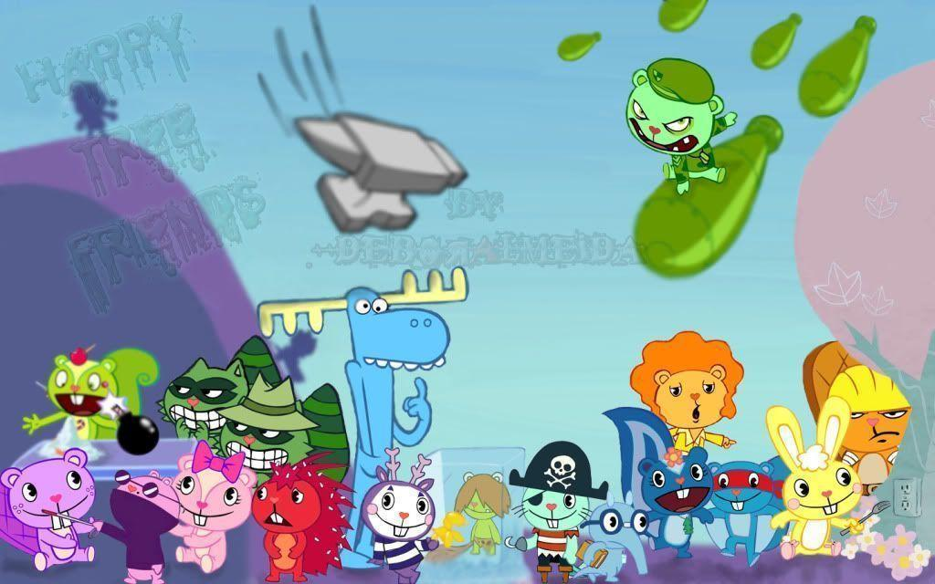 Happy Tree Friends All Characters