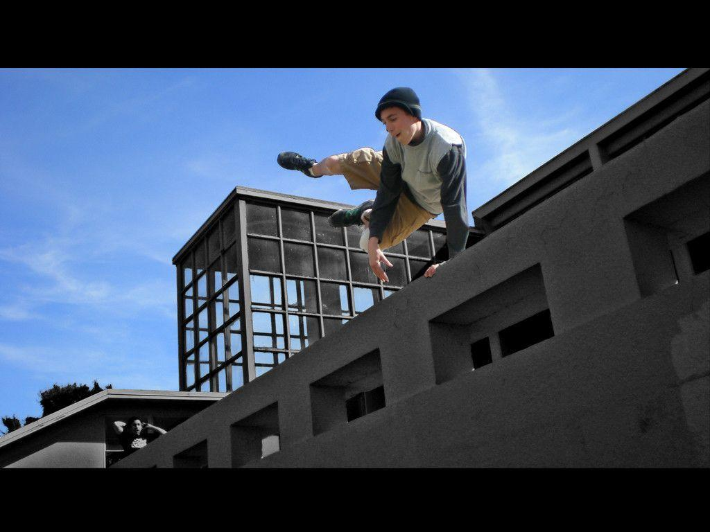 Download Jump Parkour Wallpaper 1920x1080