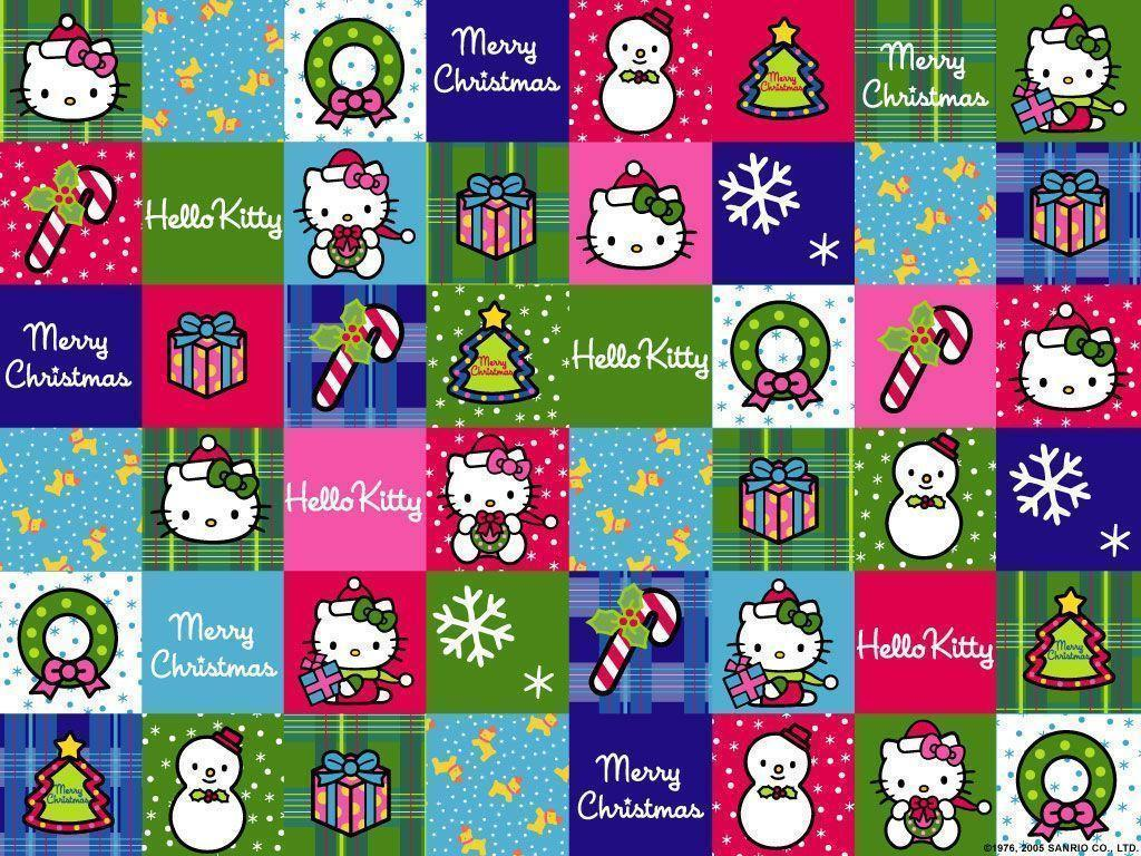 Hello kitty christmas backgrounds wallpaper cave xmas stuff for hello kitty christmas wallpaper iphone voltagebd Image collections