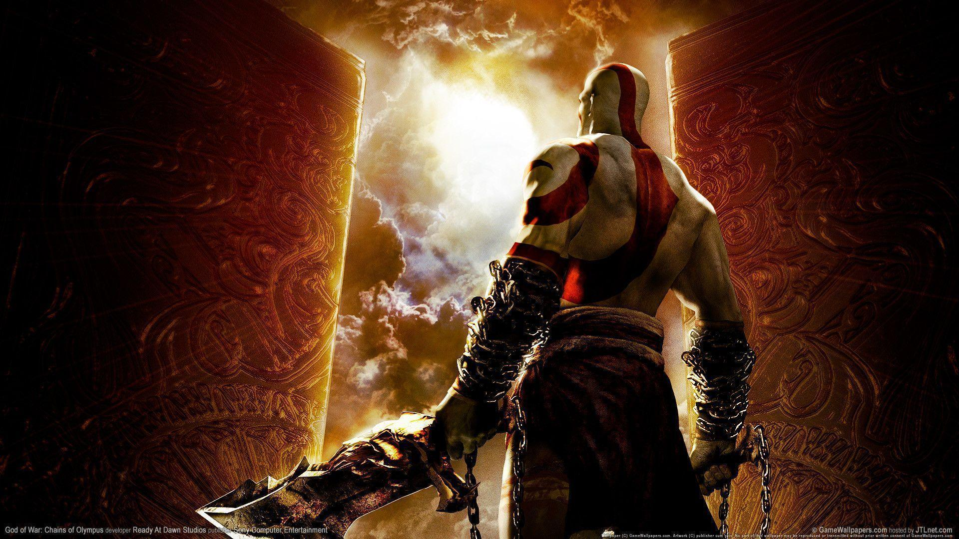 God of war chains of olympus Wallpapers