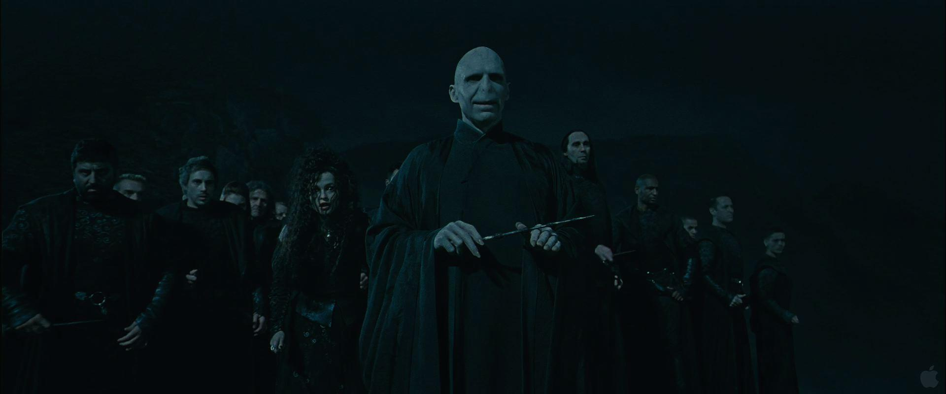 Lord Voldemort from Harry Potter Deathly Hallows Desktop Wallpaper