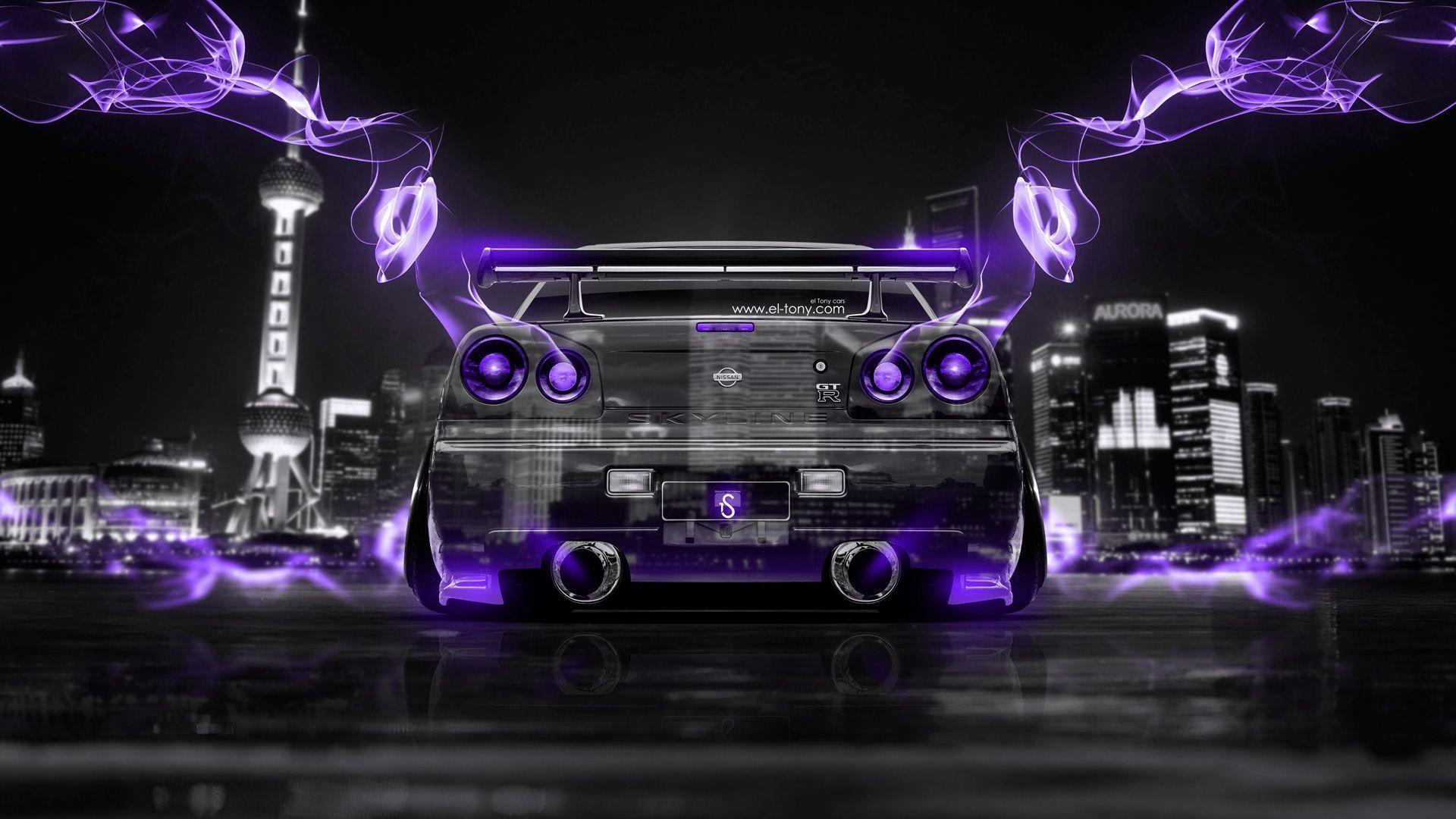 Superb Superieur Nissan Skyline GTR R34 JDM Back Crystal Energy City Car 2014 « El  Tony