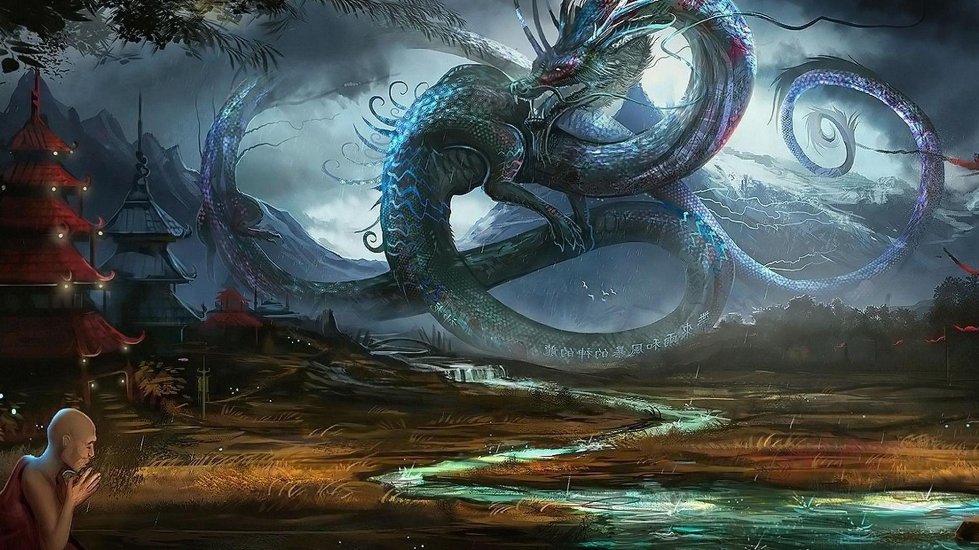 awesome 3d dragon wallpaper - photo #39