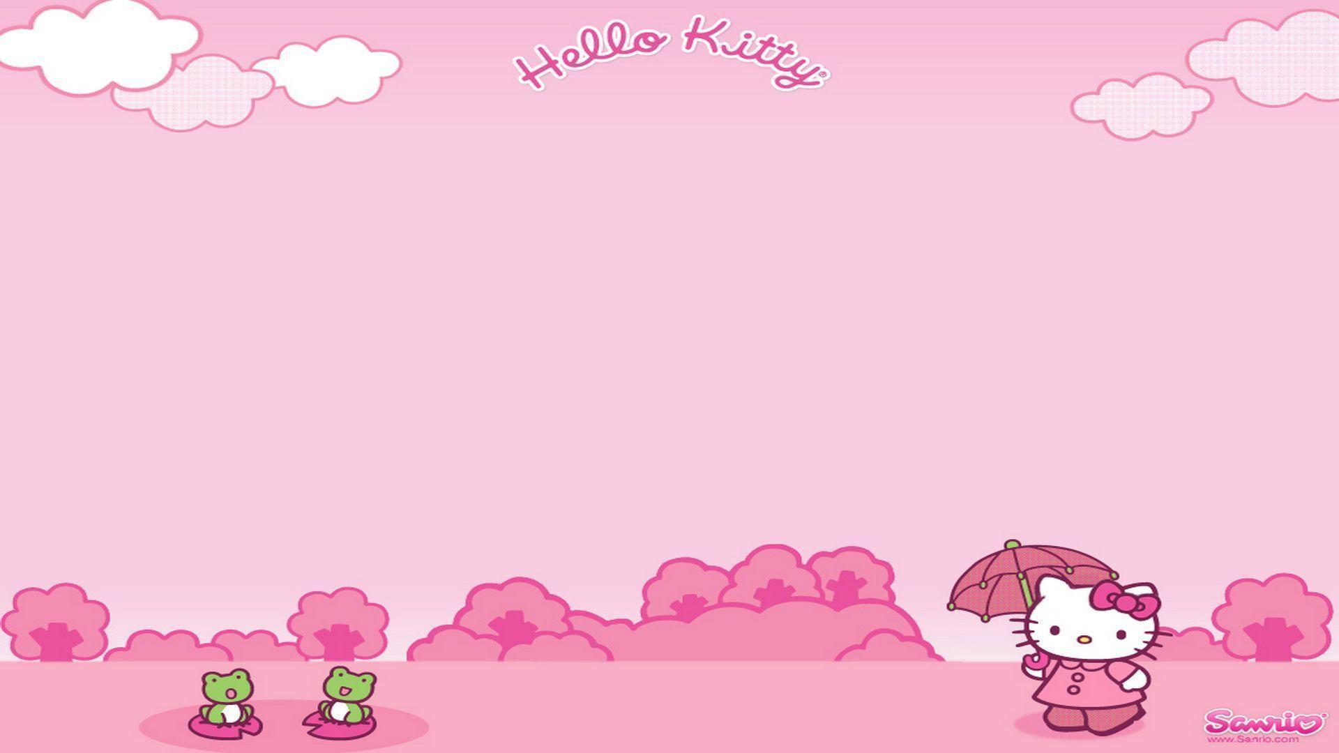 hello kitty computer backgrounds wallpaper cave