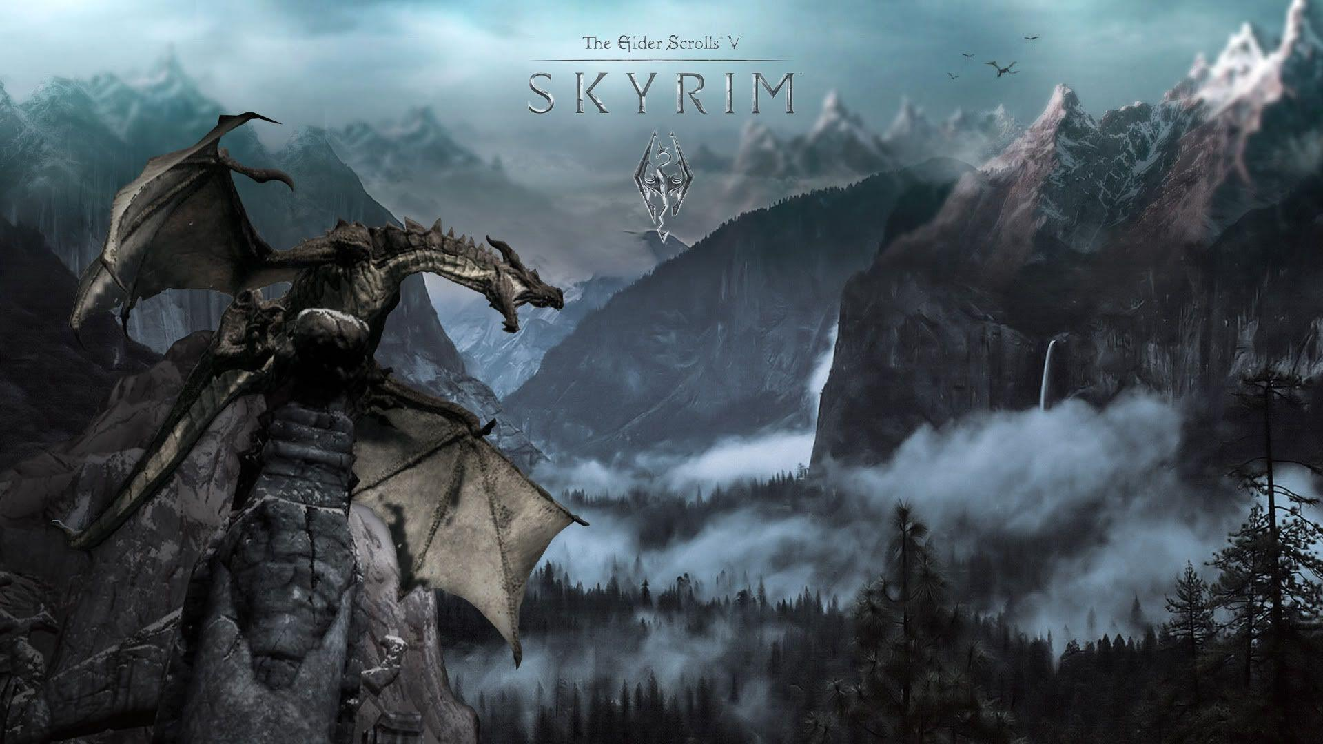 skyrim hd wallpapers 1366x768 - photo #9