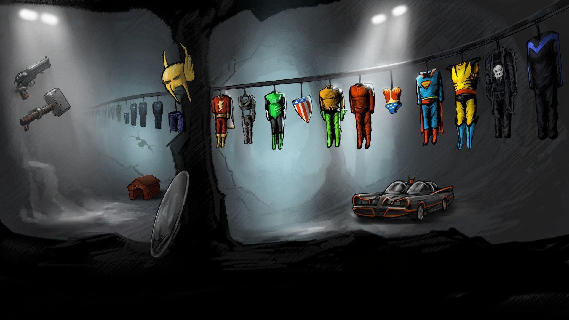 IPhone Wallpaper HD Superhero